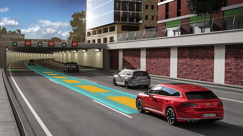全速域 ACC 主動式固定車距巡航系統。
