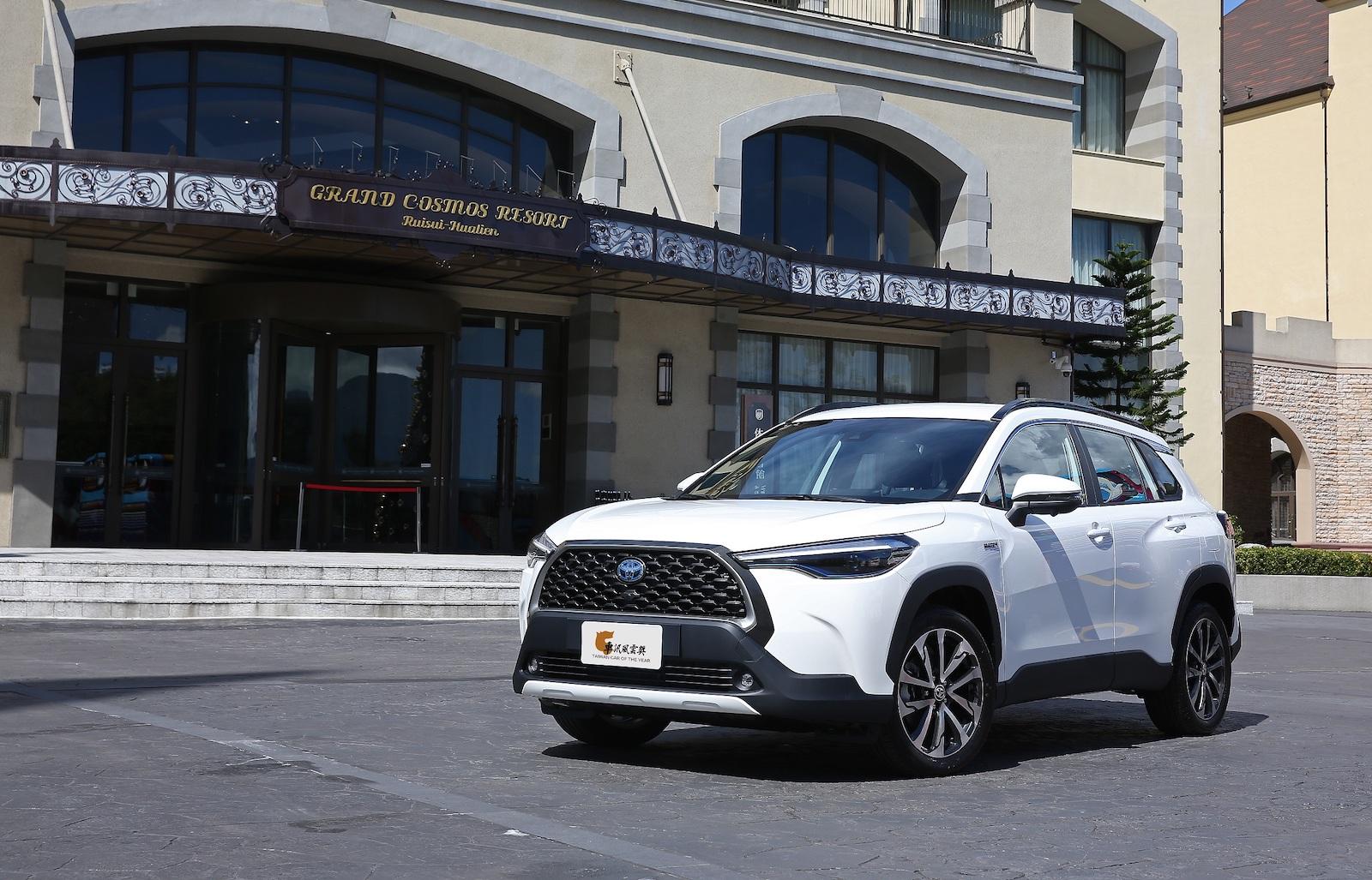 2021 最佳人氣車款(消費者網路票選)Toyota Corolla Cross。