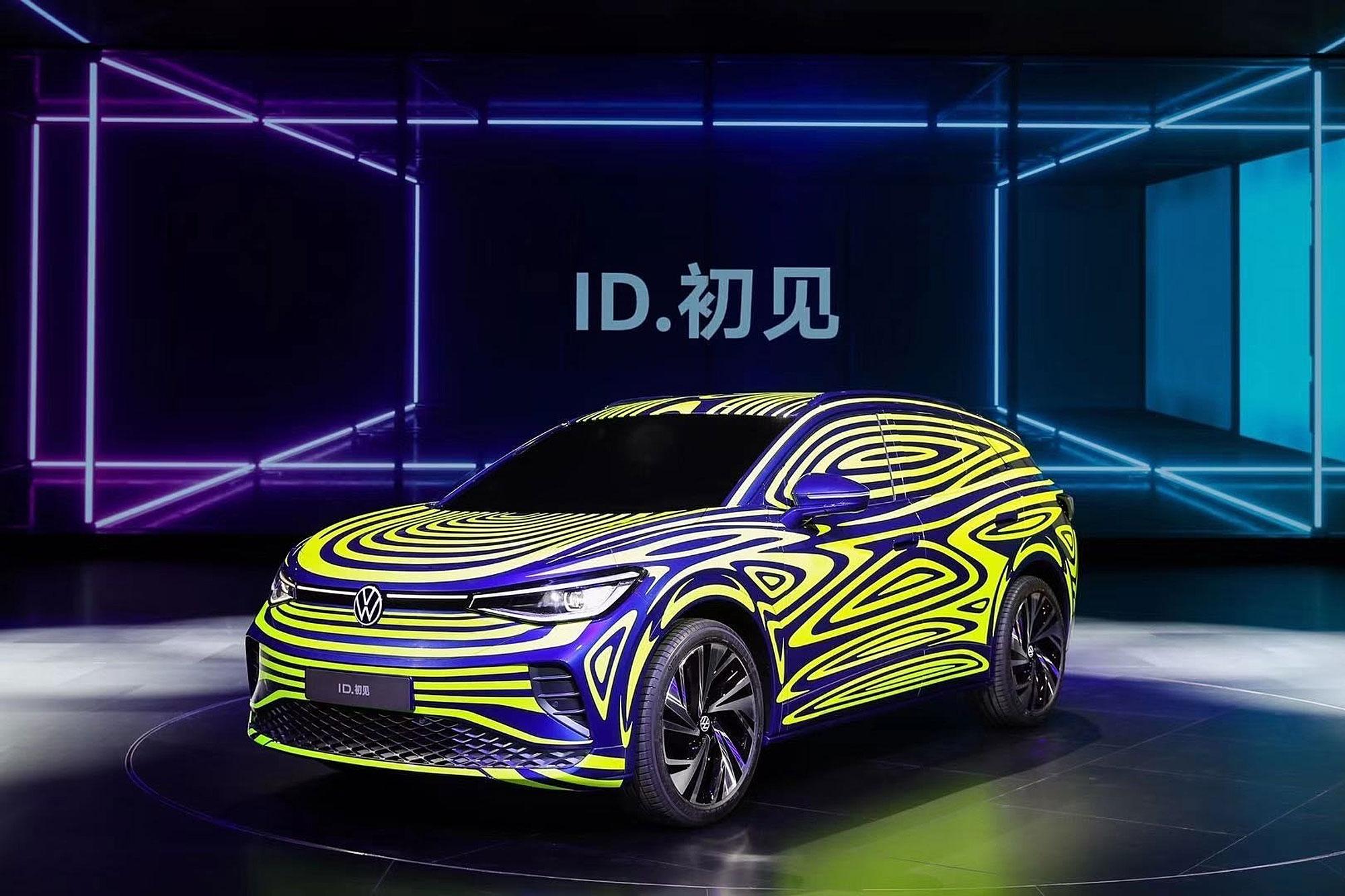 ID. 初見 為專為中國市場打造的電動 SUV 。