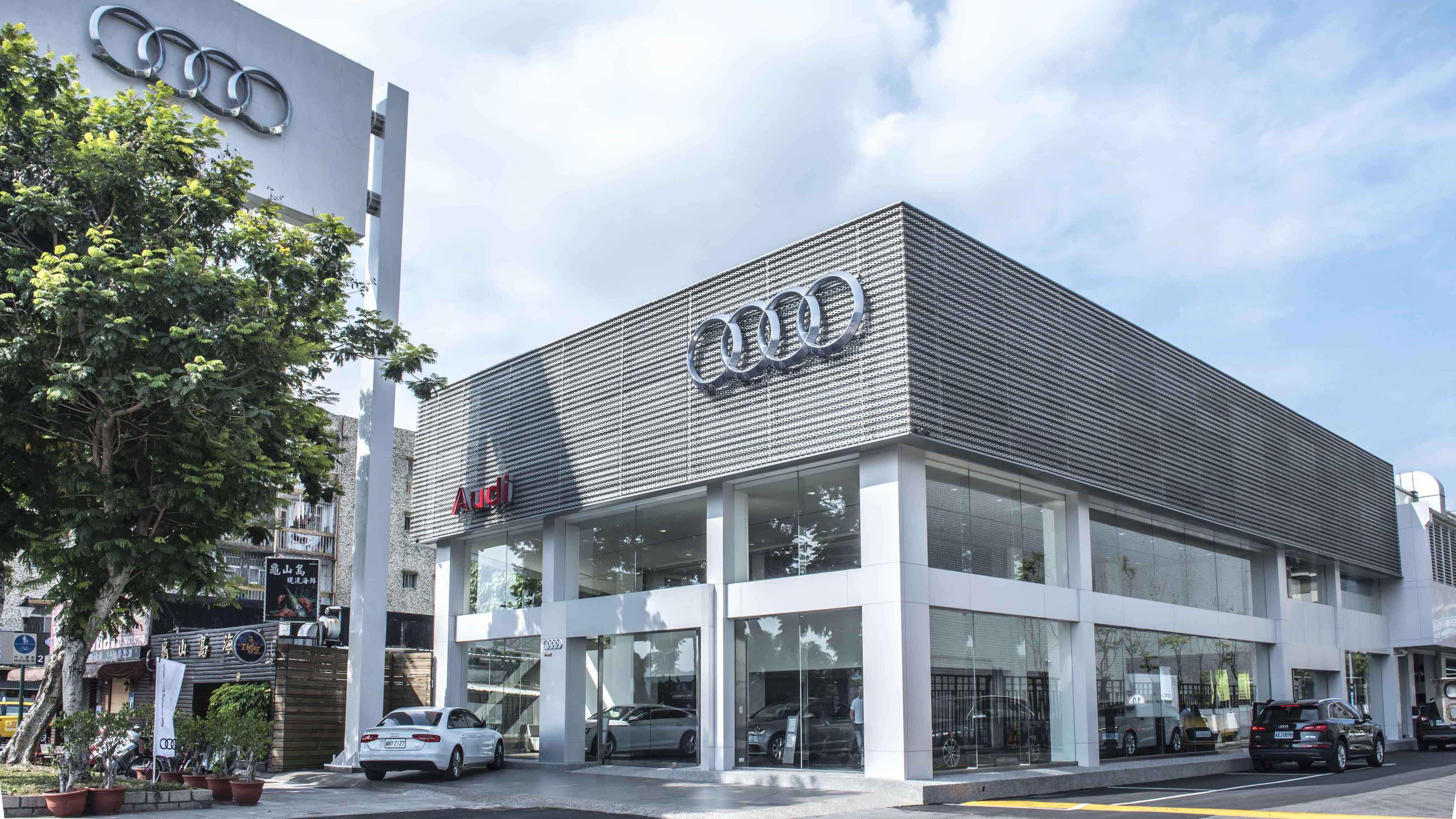 Audi 奧迪豐仕首間據點座落北投,大安、濱江陸續到位