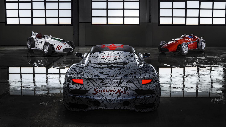 致敬傳奇車手 Stirling Moss,Maserati MC20 客製塗鴉原型車亮相