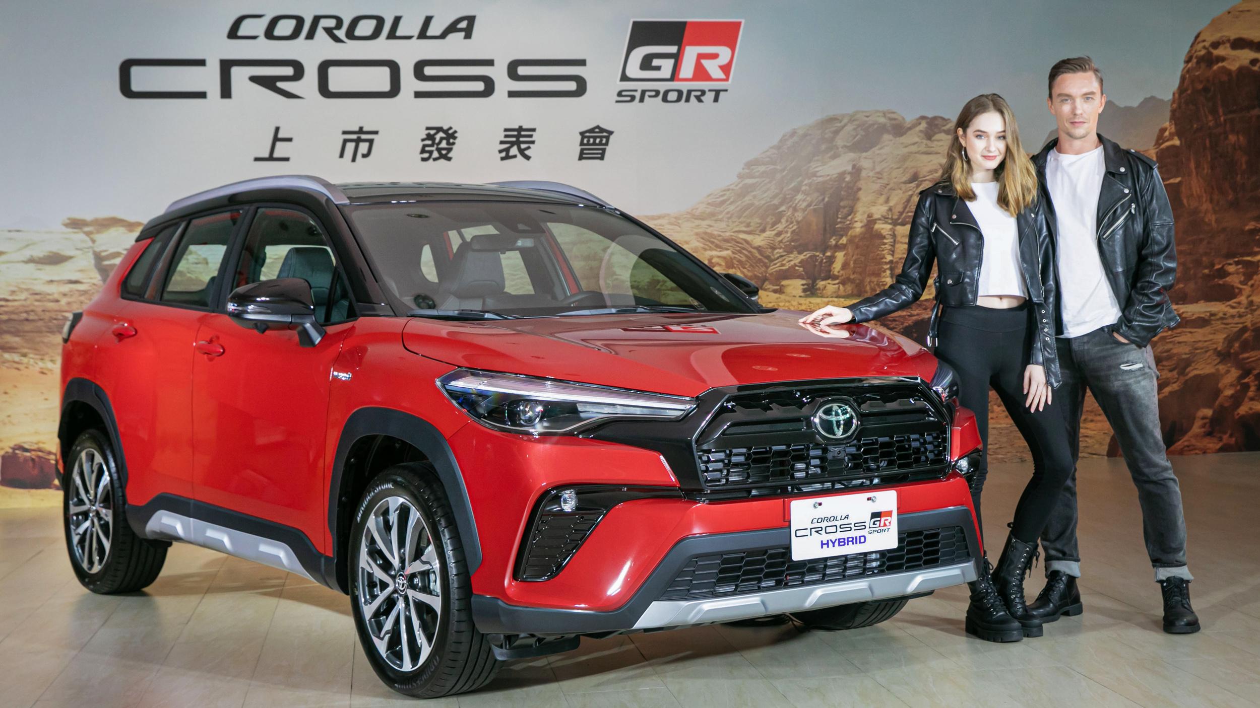 ▲ 換上運動外衣與強化底盤!Toyota Corolla Cross GR Sport 87.5 萬起開賣