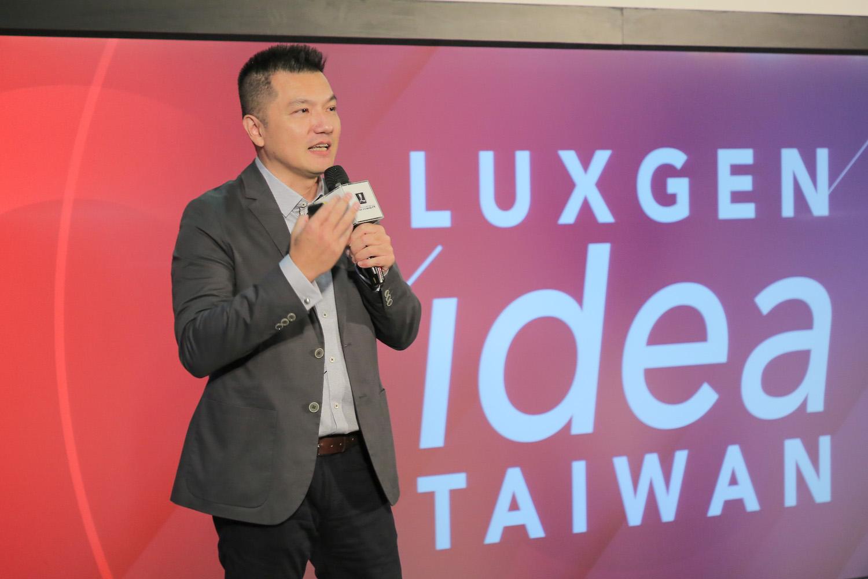 TED 台北代表 李欣龍博士。