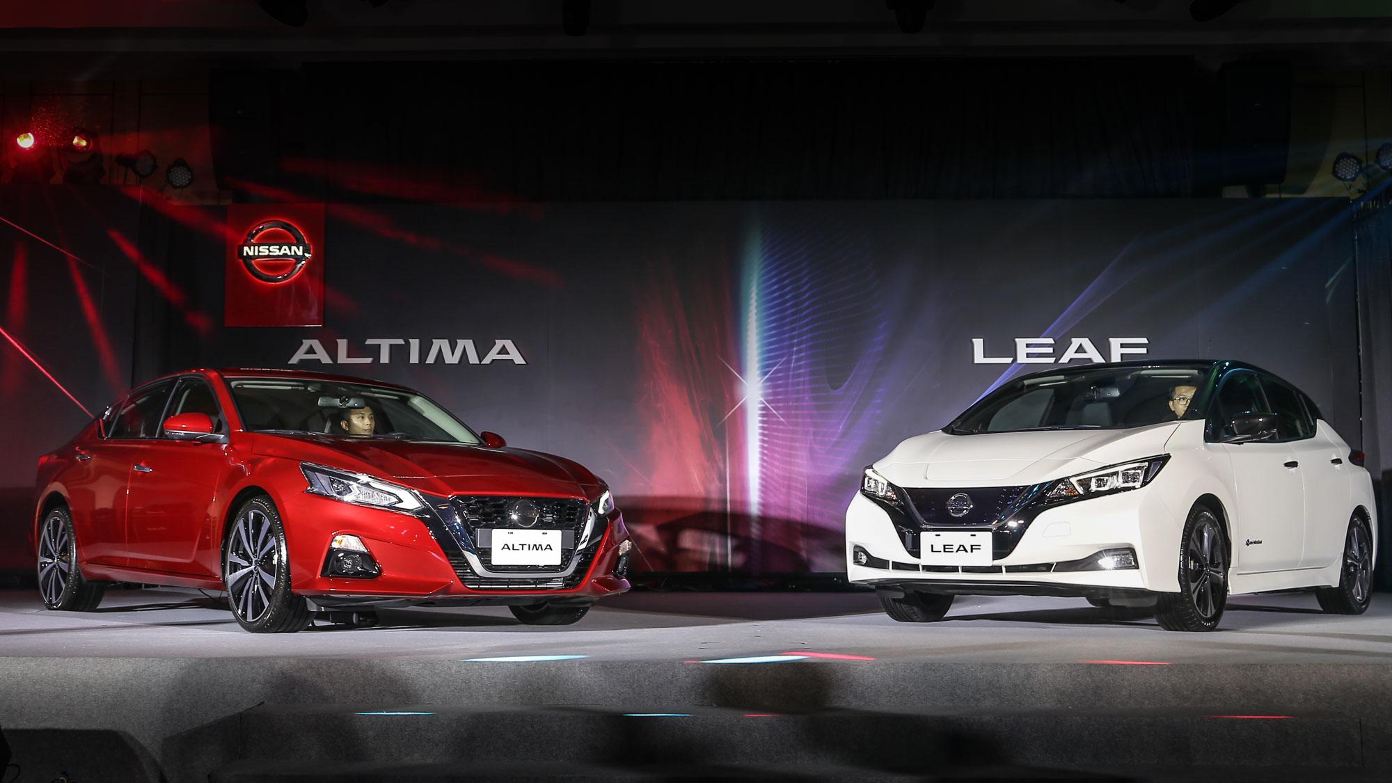 Nissan 雙發 Leaf、Altima,116.9 萬起感受日產新蛻變