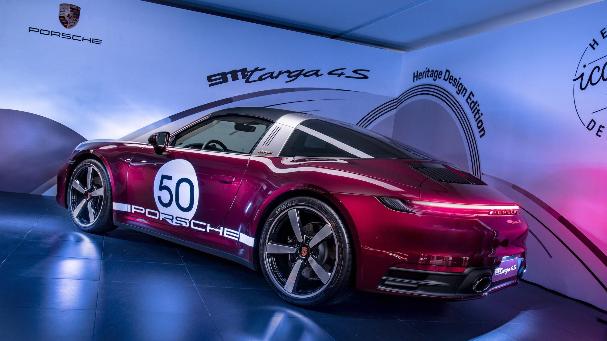 最美保時捷?911 Targa 792 萬元起,Heritage Design Edition 限量版同步登場