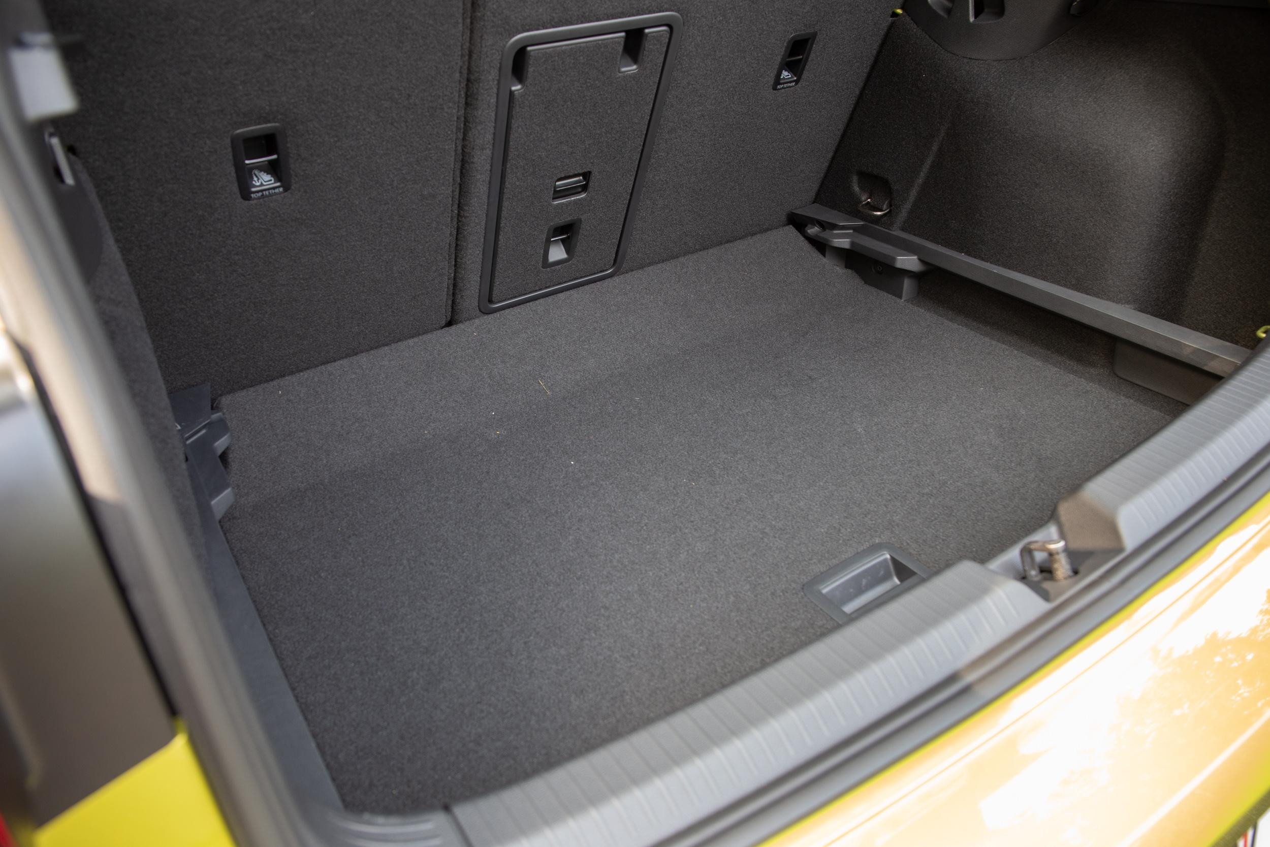 後廂底板有兩段高度可調。