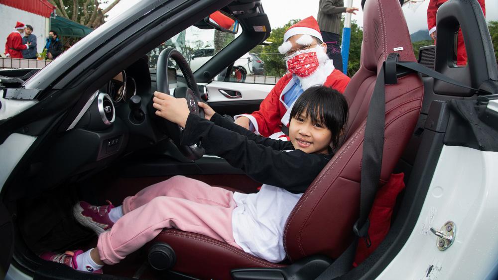 台灣馬自達「Hi MAZDA Santa」聖誕活動 替孩童溫馨送暖