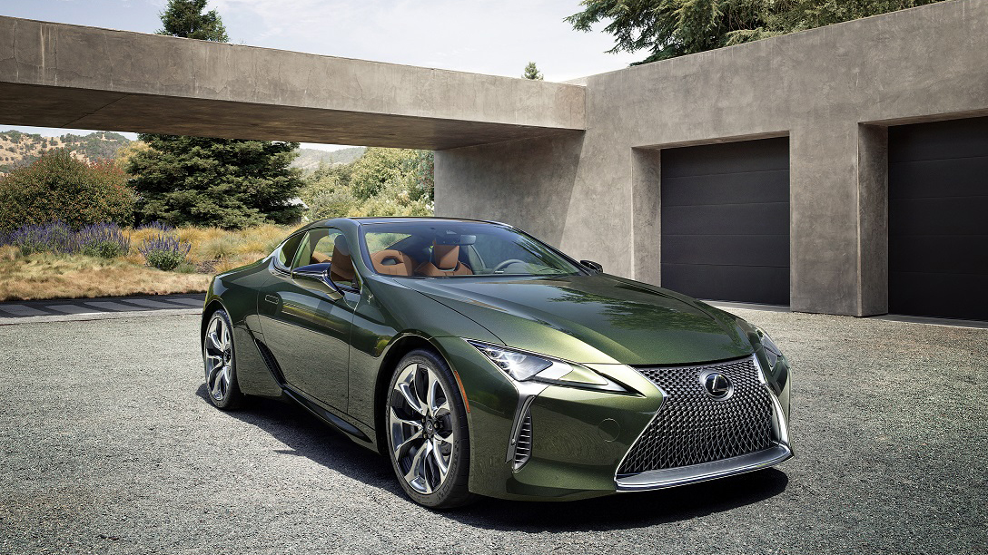 2020 年式 Lexus LC Limited Edition 559 萬起限量登場