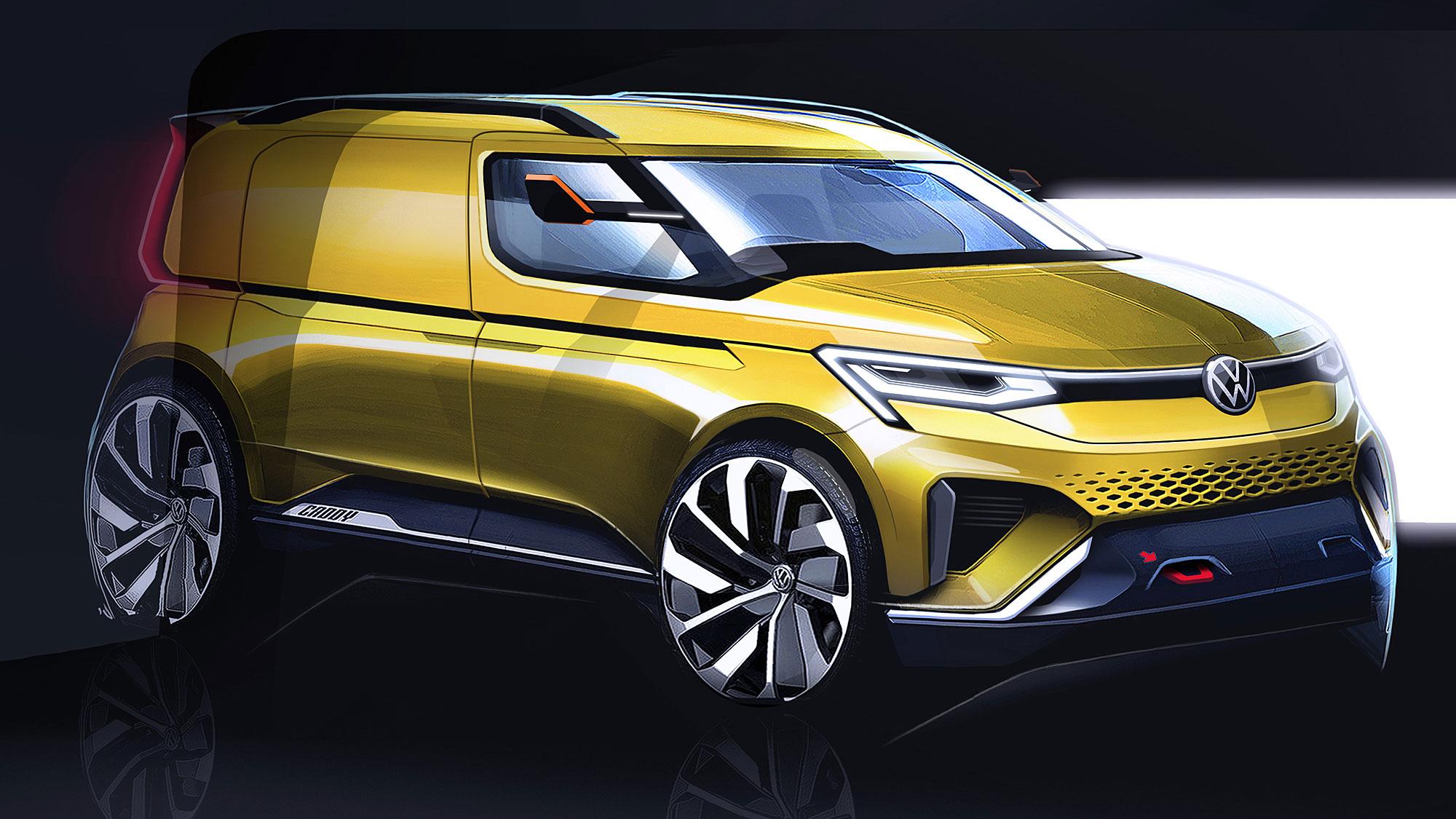 新世代 Caddy 的外表將更流線且動感。