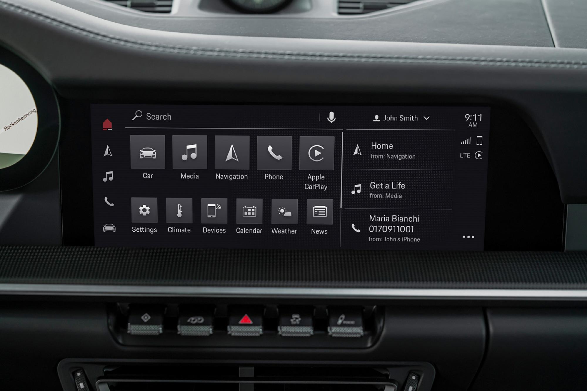 第六代保時捷通訊管理系統 (PCM)將於今年夏季將正式搭載於 911、Cayenne 及Panamera 車系。