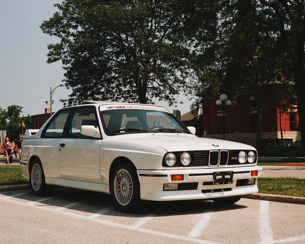 1986 年 E30 M3。