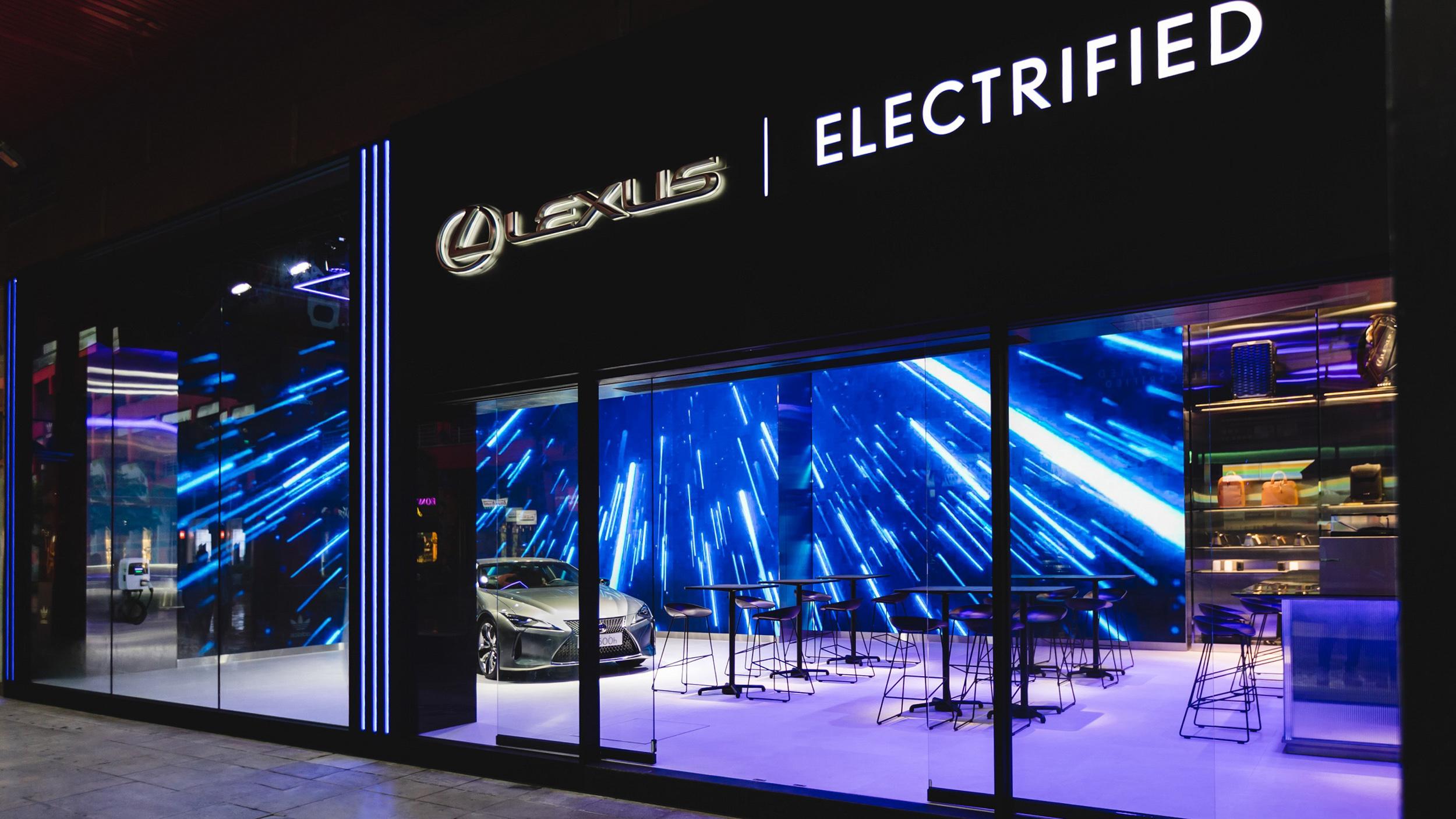 ▲ 「LEXUS ELECTRIFIED」品牌概念店進駐台北信義區