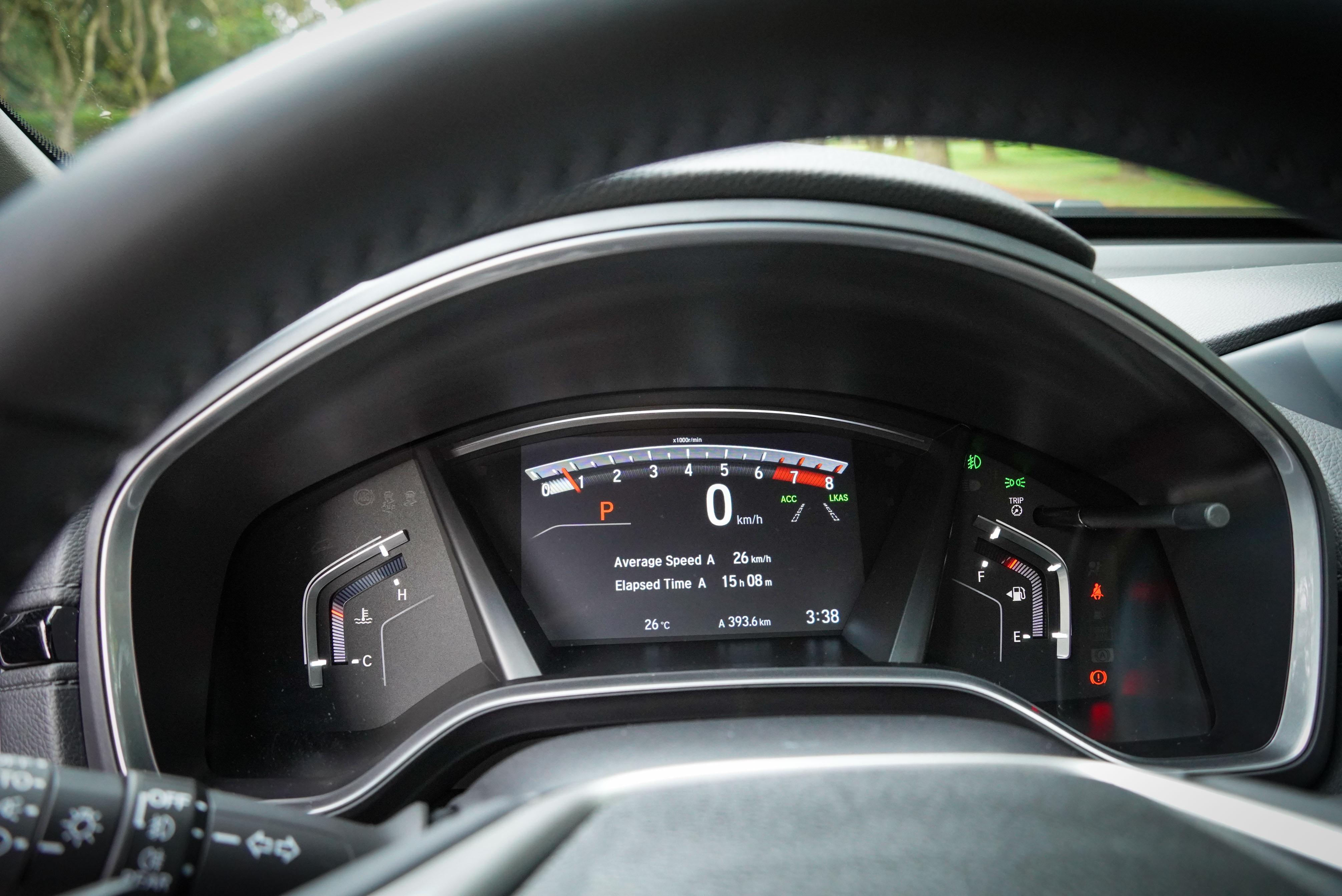 TFT 彩色液晶儀表為全車系標配。