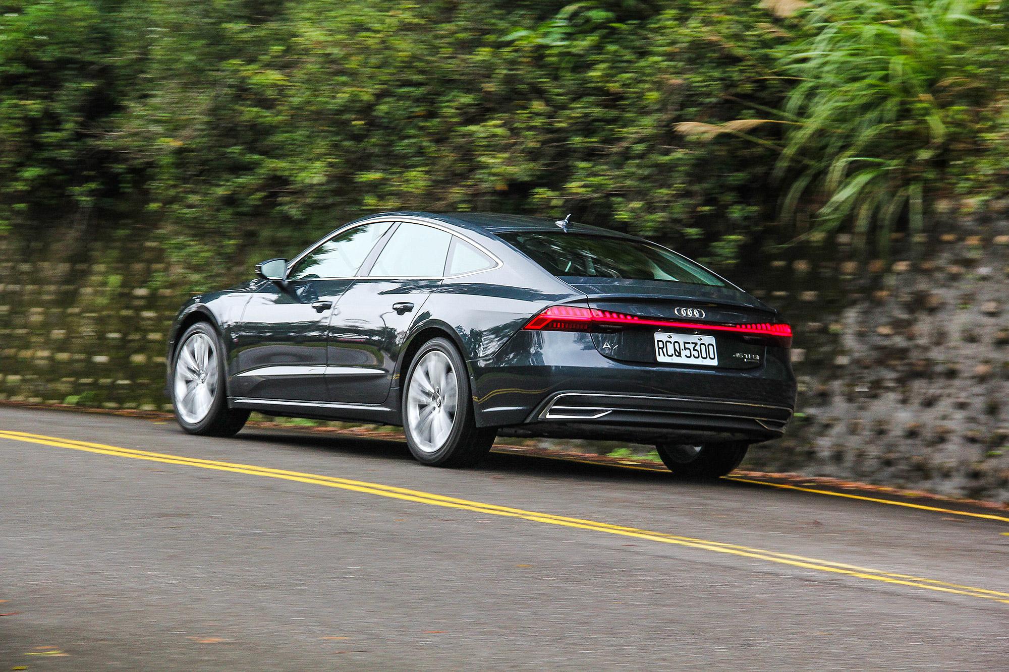 輕快的反應與順暢的駕馭感受,是 A7 Sportback 最吸引人之處。