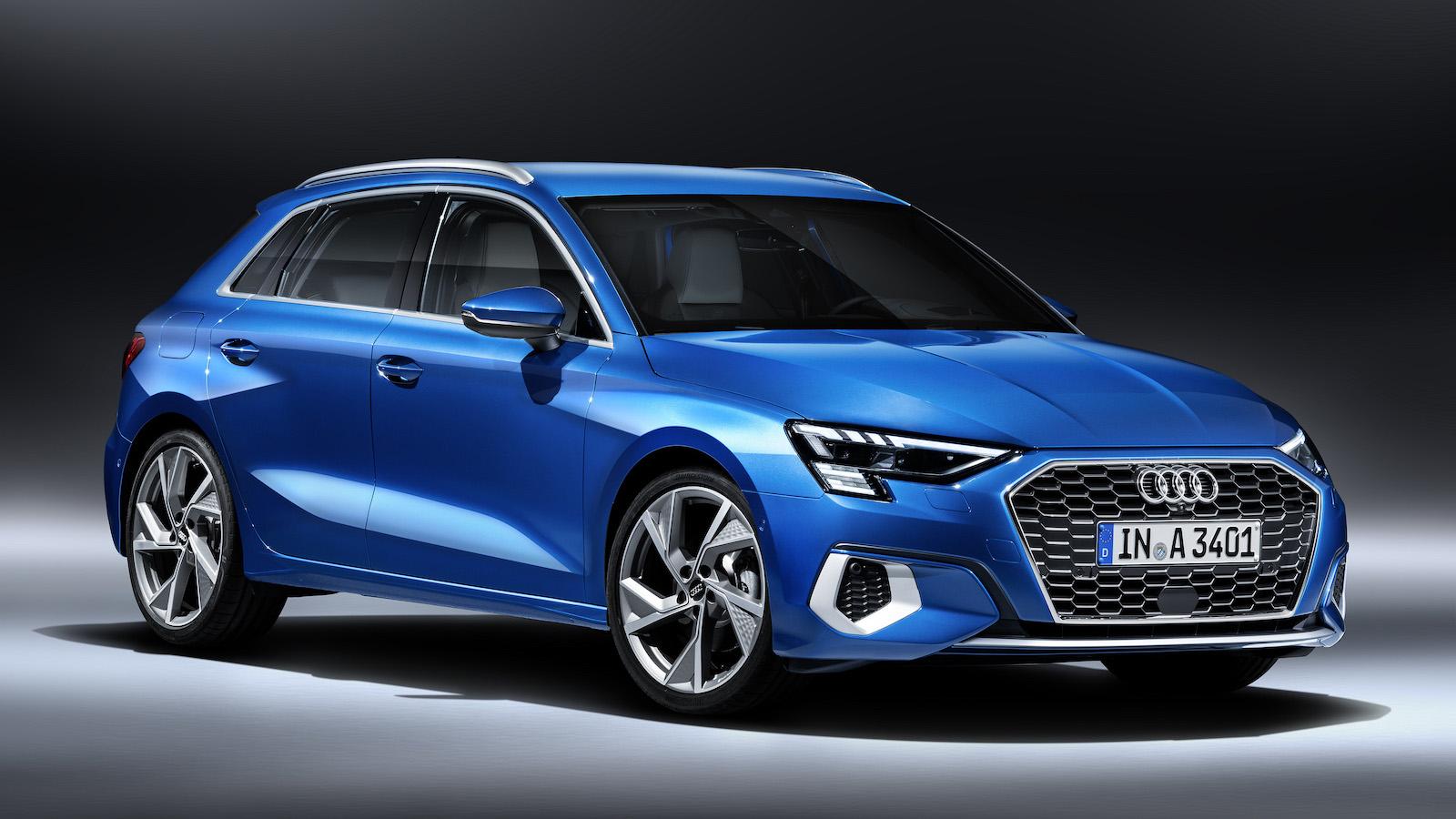 4 月中旬上市,預覽全新 Audi A3 Sportback 創新設計與科技