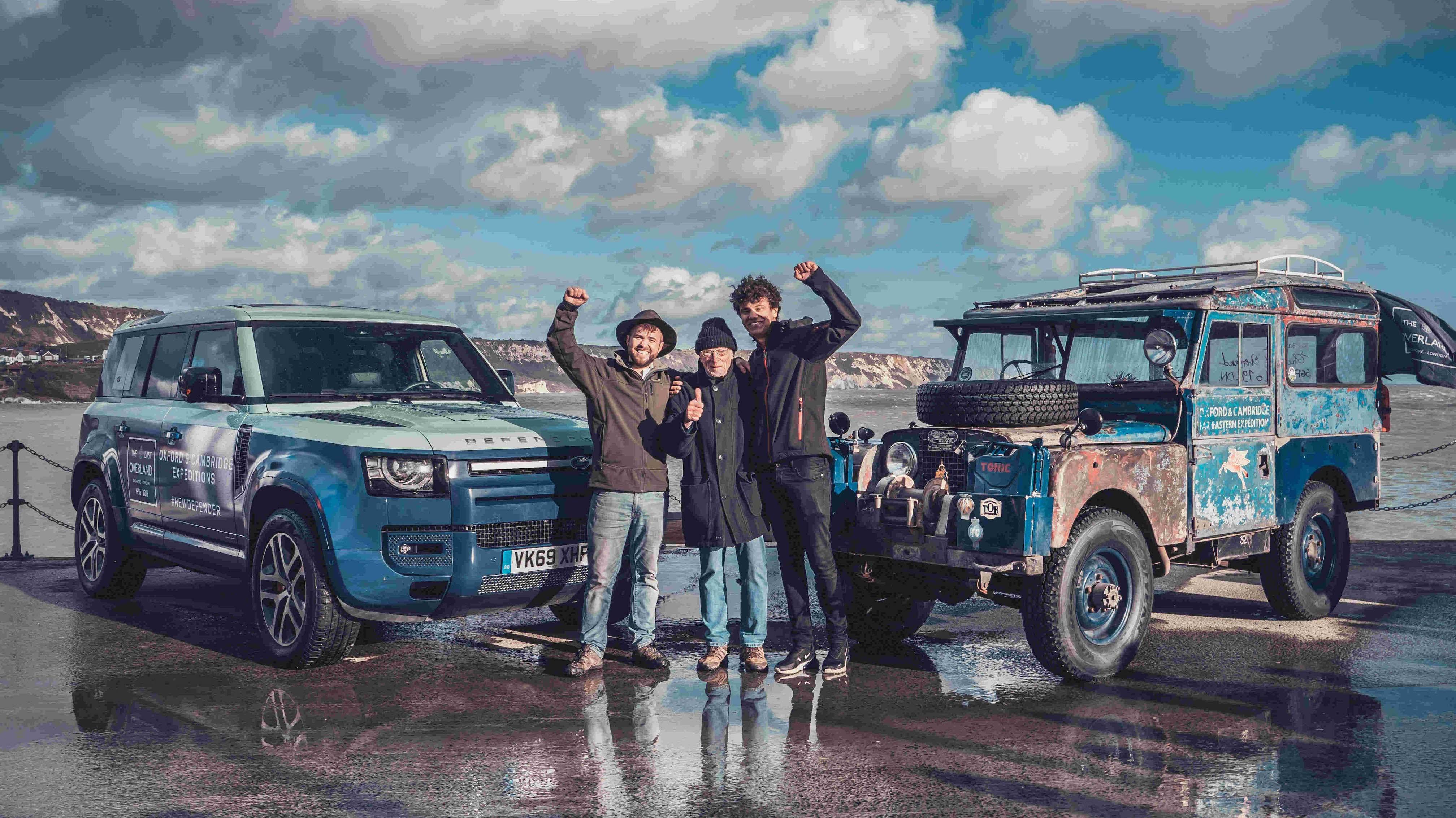 跨世代交會,全新 Land Rover Defender 迎接 The Last Overland 歐亞遠征隊重返倫敦