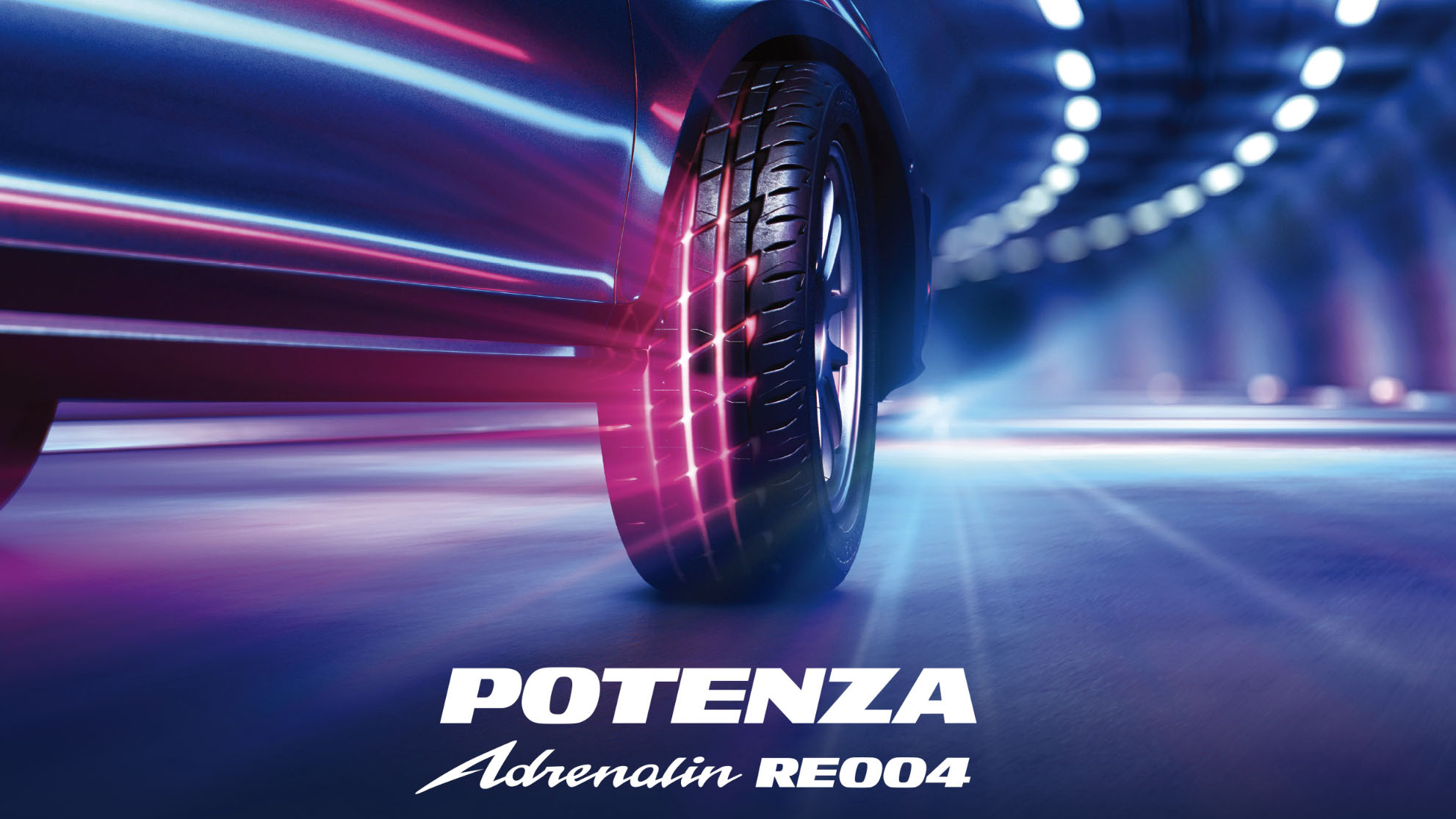 ▲ Bridgestone 推出全新性能街胎 Potenza Adrenalin RE004
