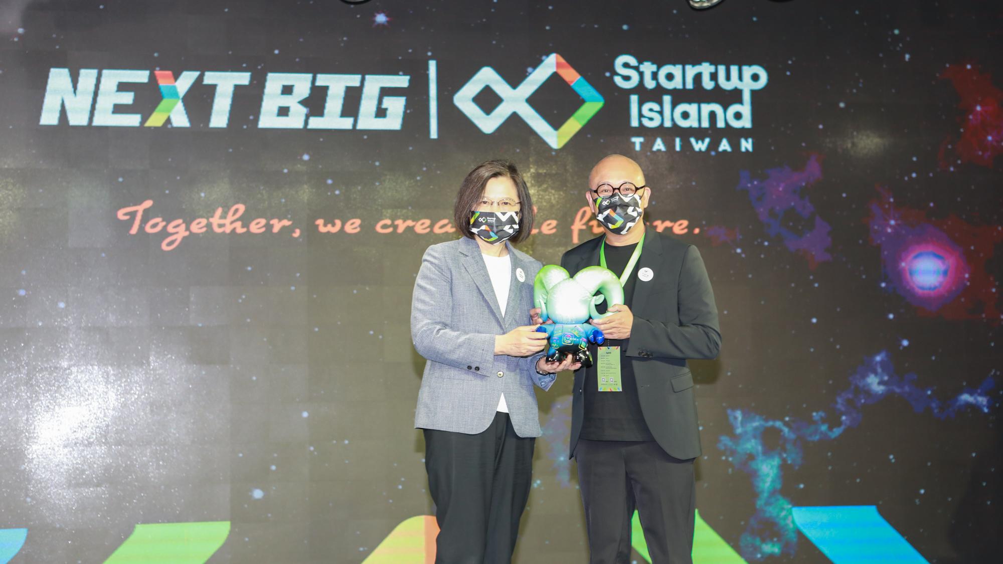 Gogoro 獲頒「NEXT BIG 國家新創品牌」殊榮  成為台灣創業典範