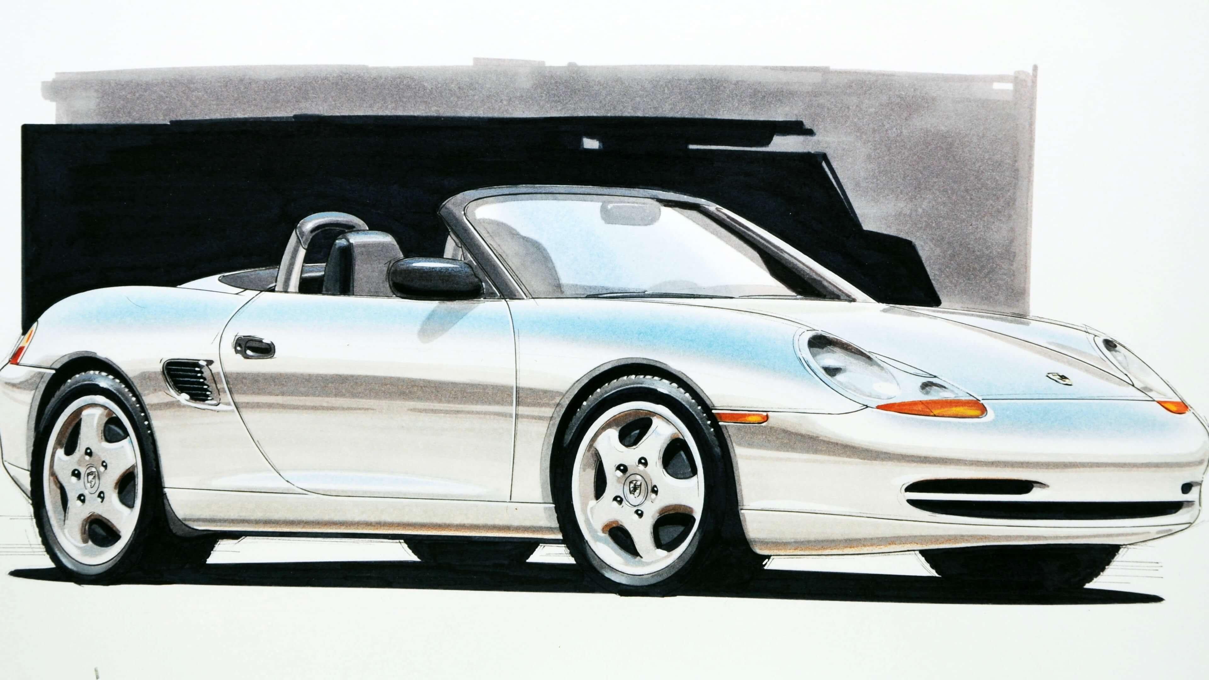 Porsche Boxster 問世 25 周年!一探傳奇中置引擎跑車起源