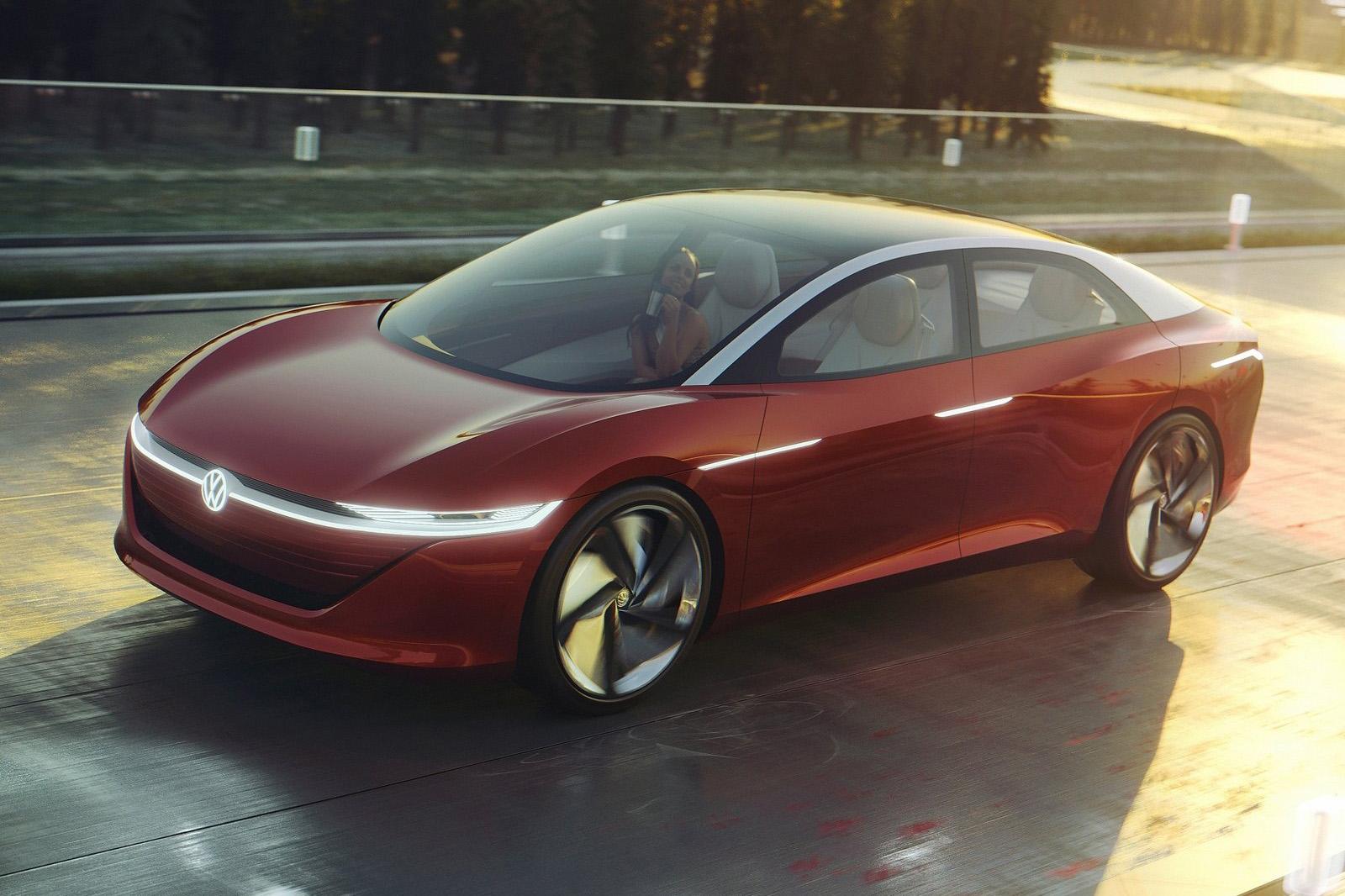 預計 2022 年入列的斜背版本 ID.5。圖為其概念車 I.D.Vizzion。