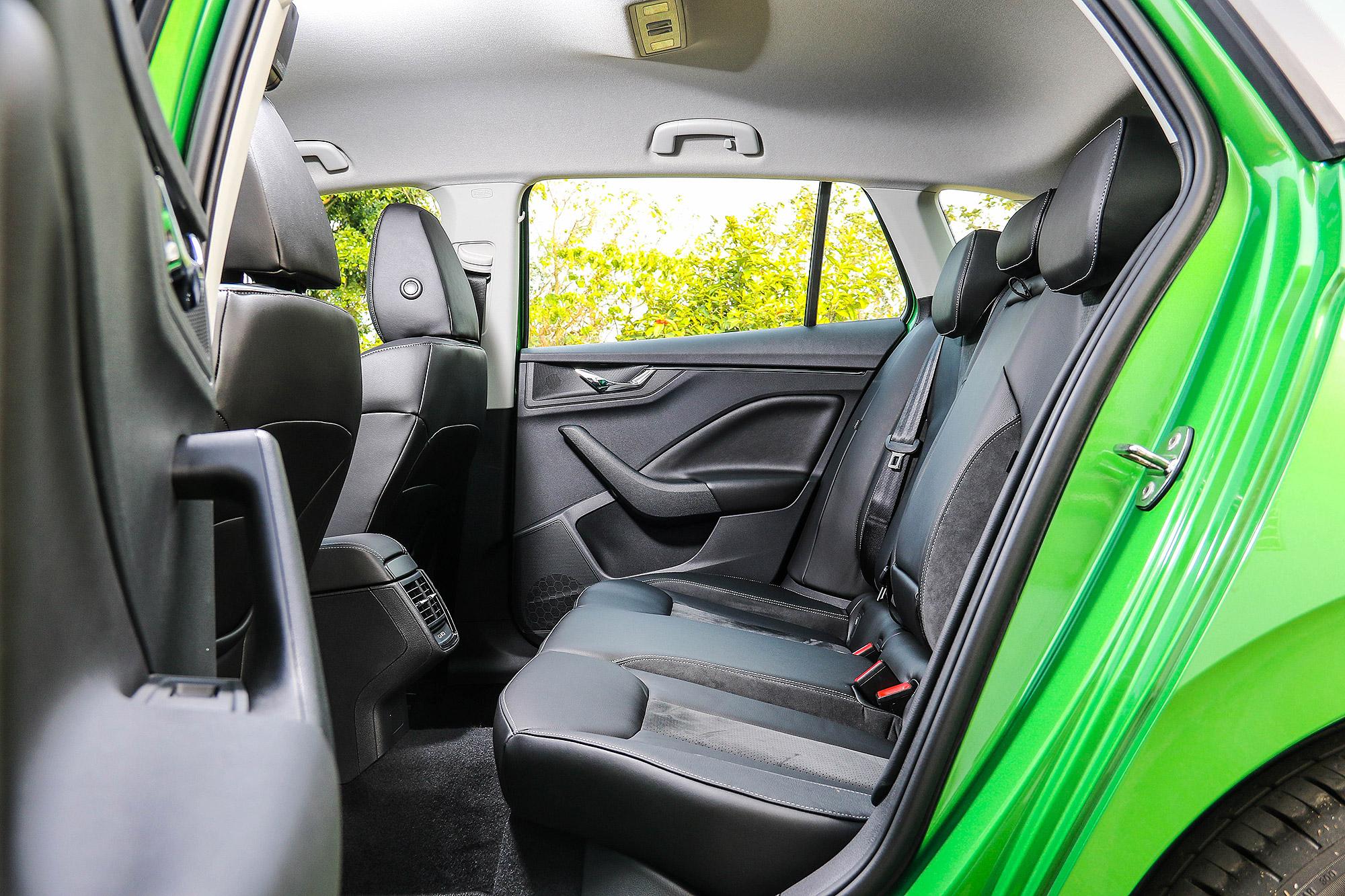 後座乘坐空間足以媲美現行 Octavia 。
