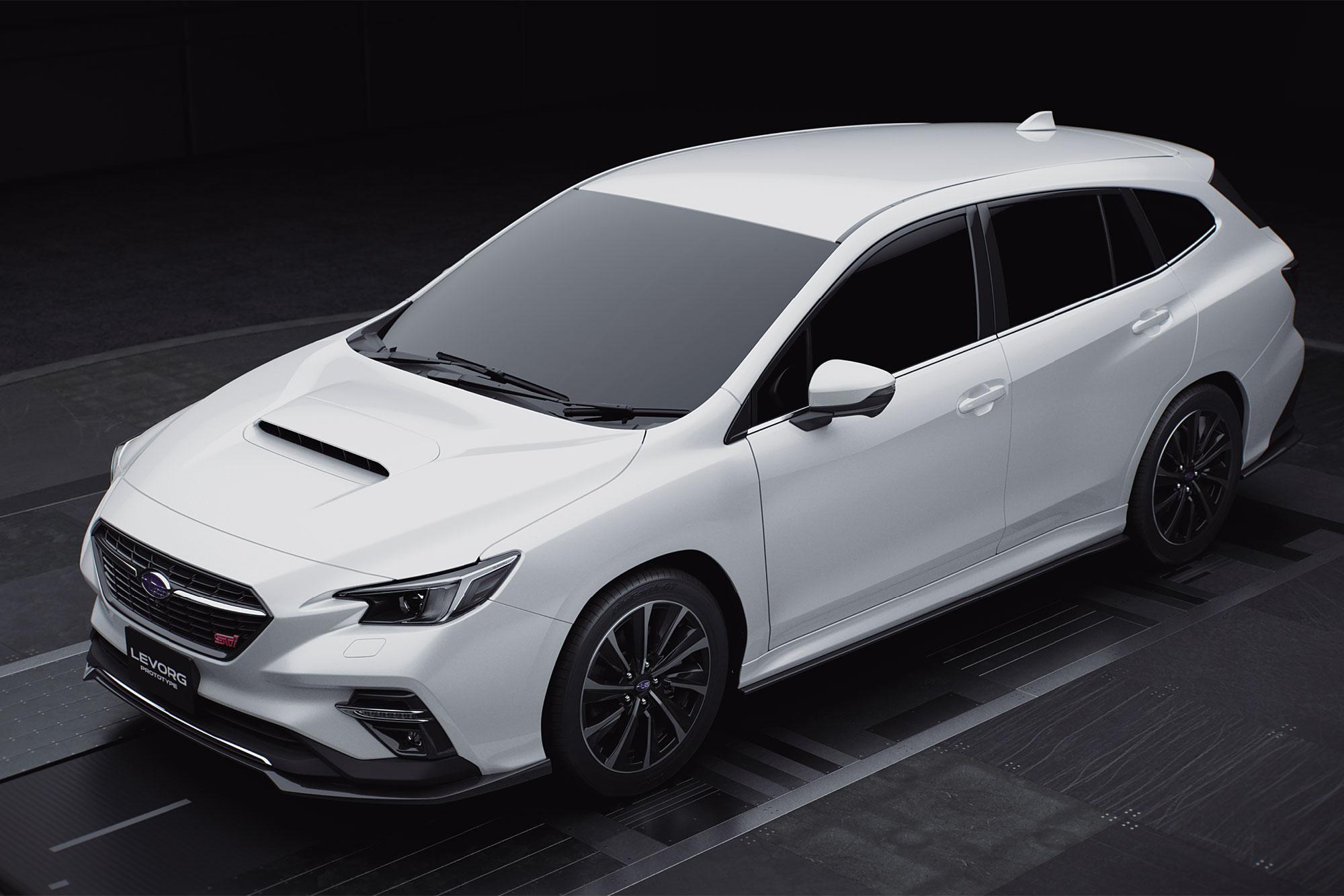 Subaru 於 2020 東京改裝車展發表 Levorg STI Sport Prototype 。