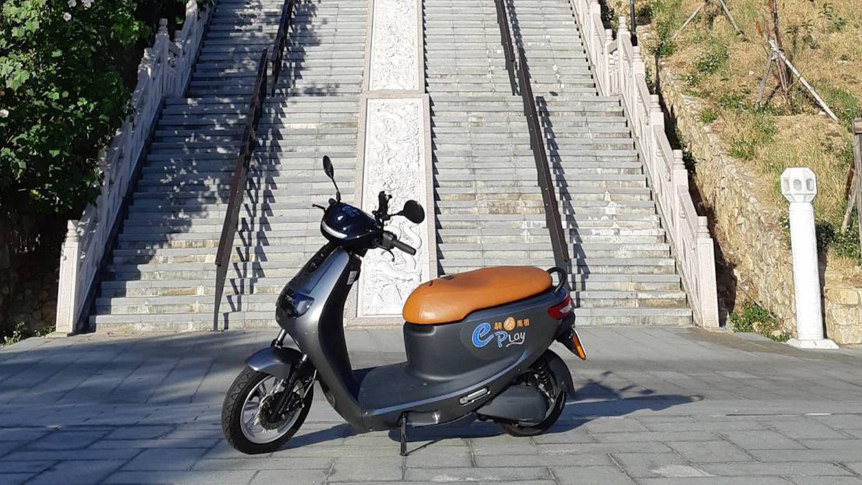 eMOVING iE125 前進馬祖,旅遊日租只要 500 元!