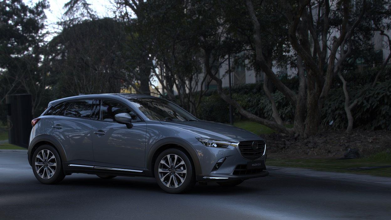 ▲ 21 年式 Mazda CX-3 開始接單,83.9 萬起標配全速域跟車系統