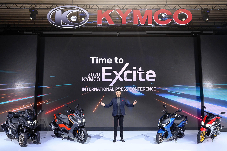 Kymco m6「Time to Excite 國際新車發表會」中