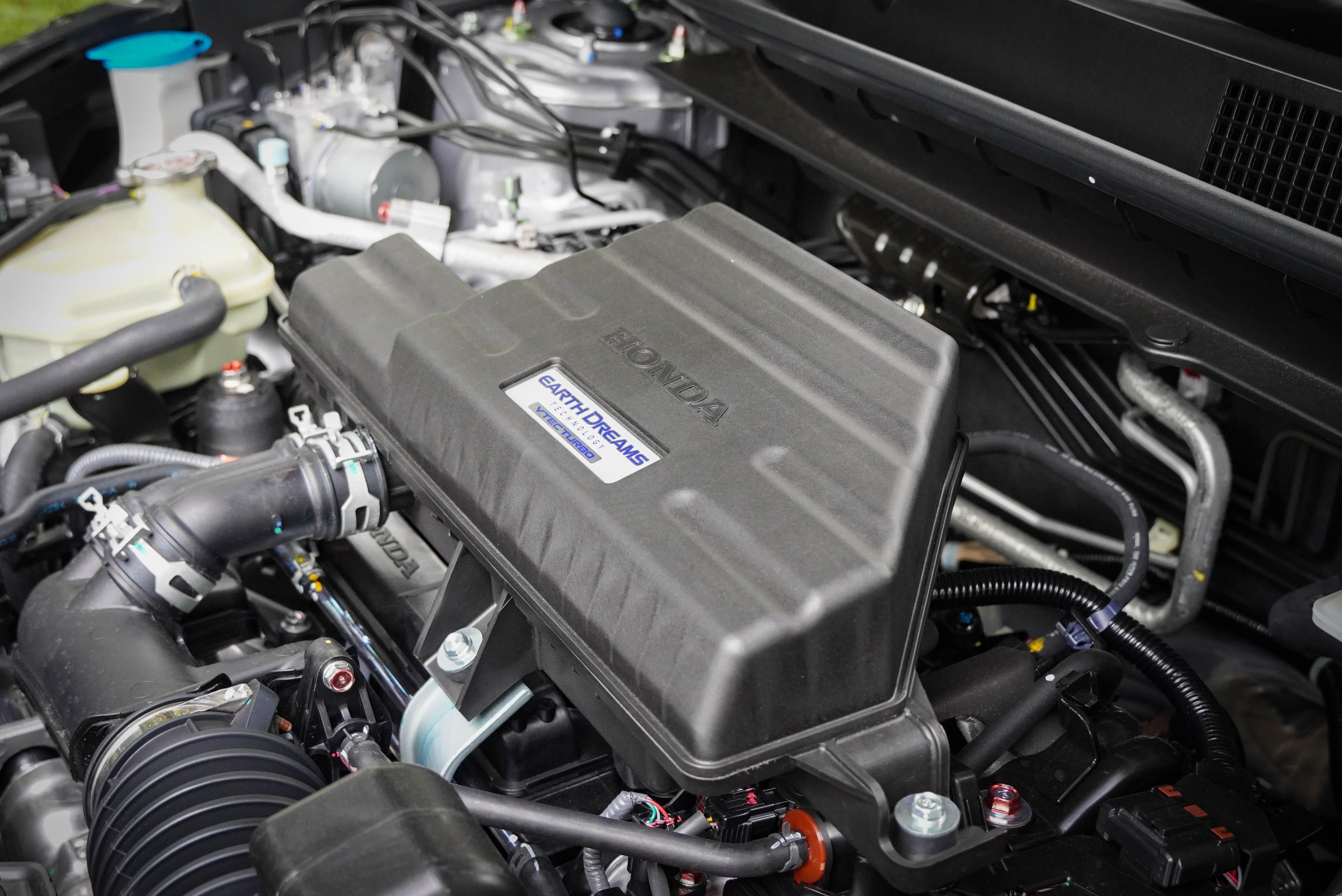 Earth Dreams VTEC Turbo 引擎輸出為 193 匹馬力、24.8 公斤米扭力。