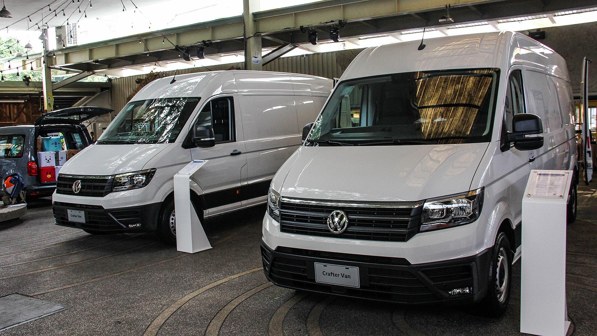 福斯商旅 Crafter Van 近距離實拍,170萬元起雙車型接受訂購