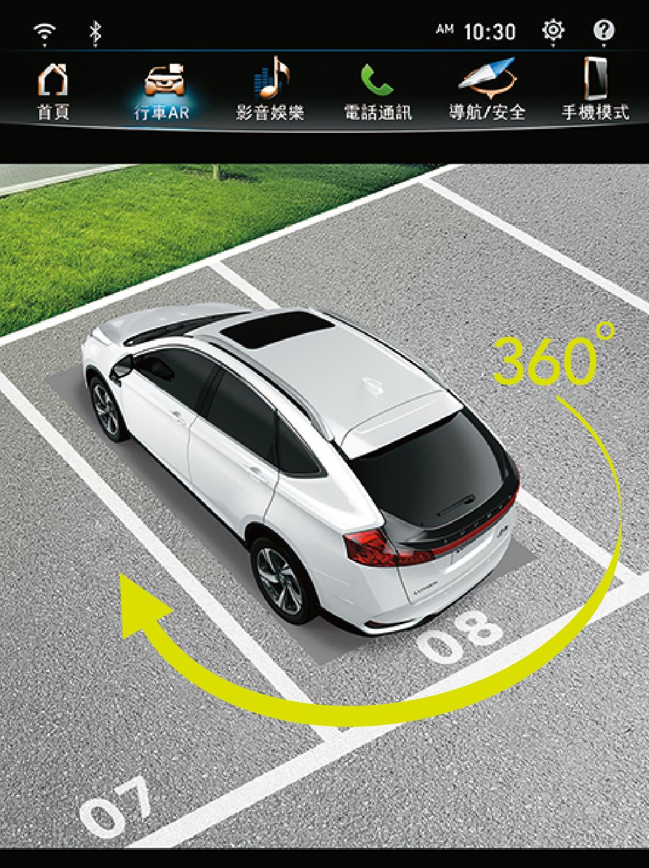 環車 AR 安全影像。
