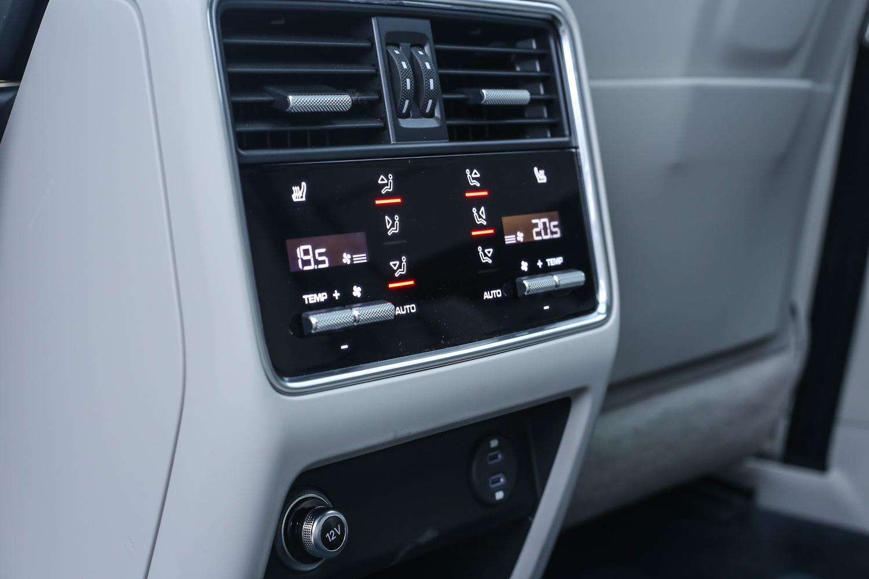 四區恆溫空調系統為選配項目。