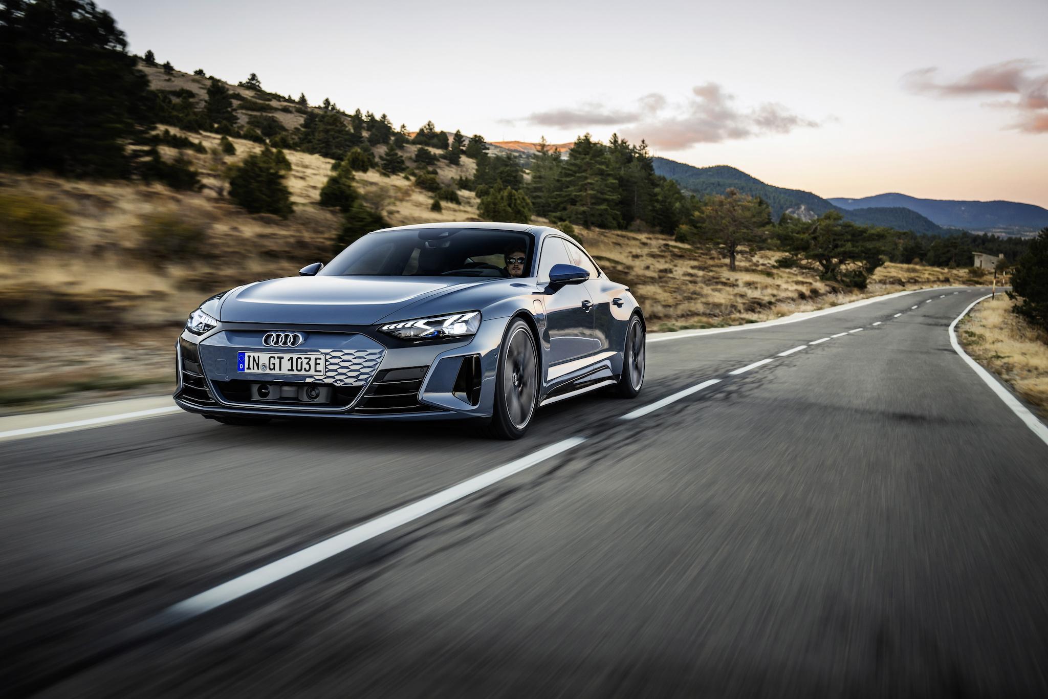 Audi e-tron GT quattro。