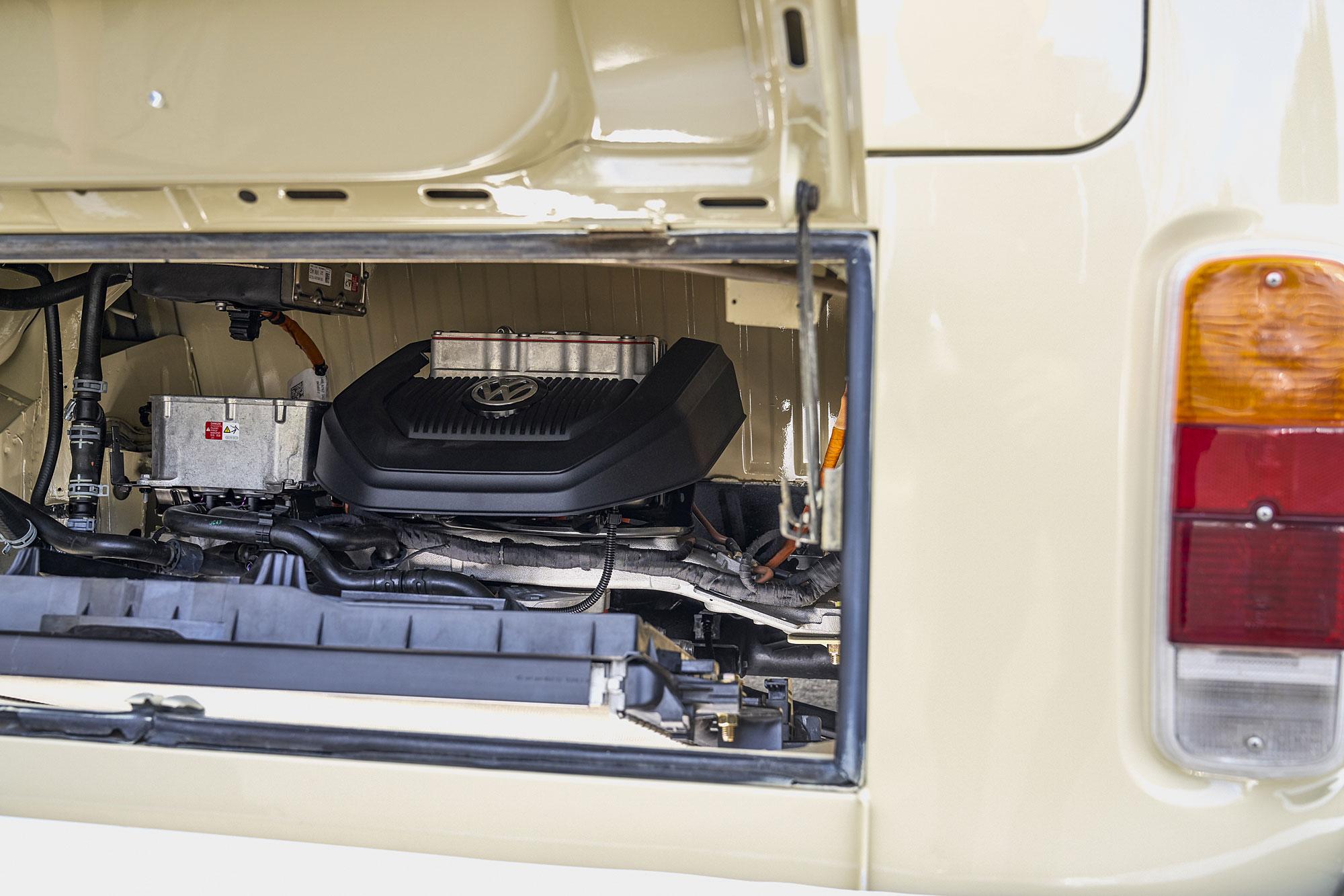 T2 e-Bus 動力系統來自於 2017 年式的 e-Golf 電動車。