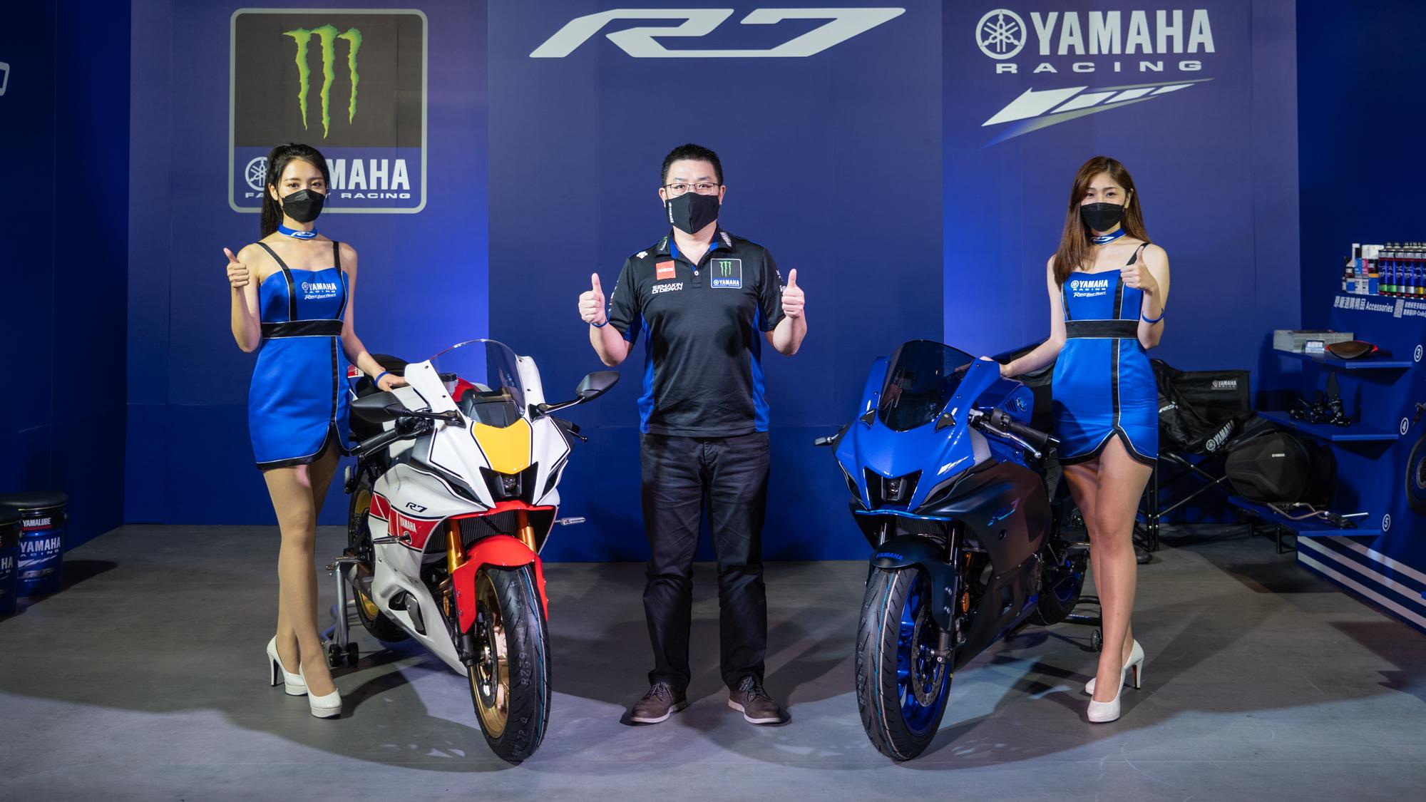 Yamaha YZF-R7 正式上市!加碼 60 週年紀念車型,9/18~19 舉辦「R/World」體驗
