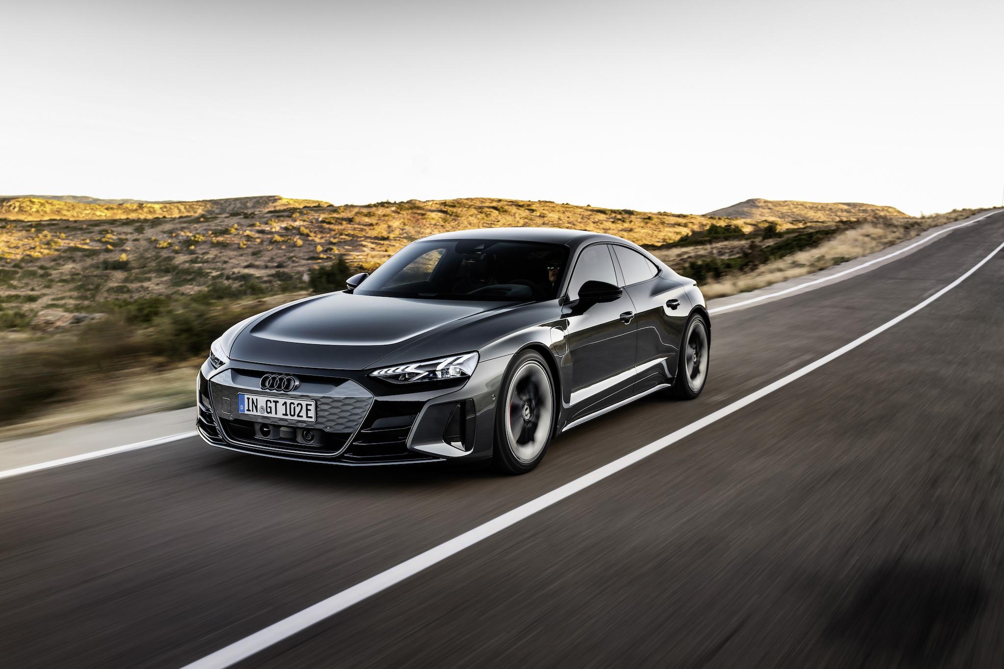 Audi RS e-tron GT。