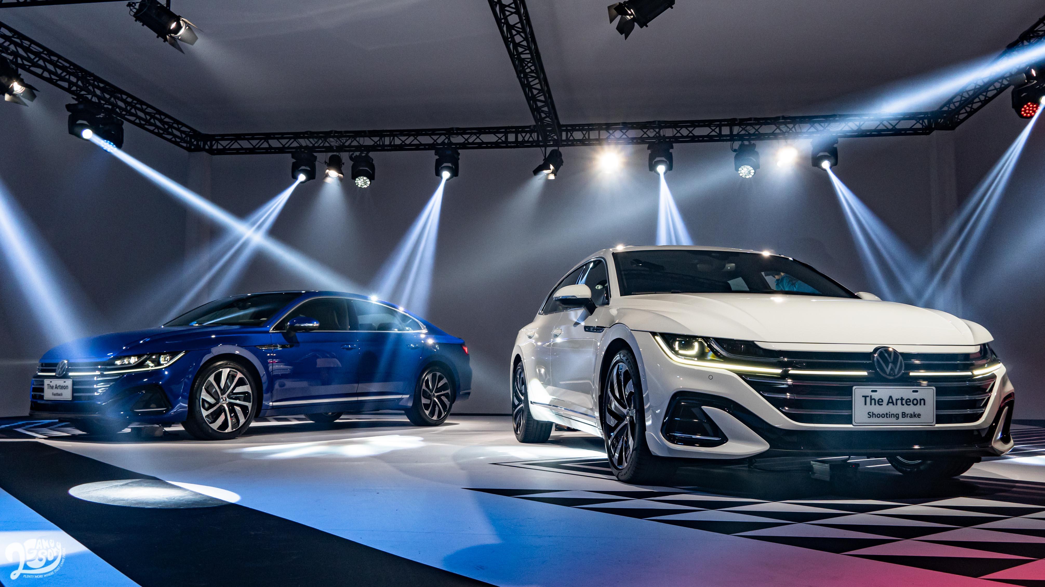 實拍 Volkswagen Arteon 美背雙嬌 七車型預售 149.8 萬起
