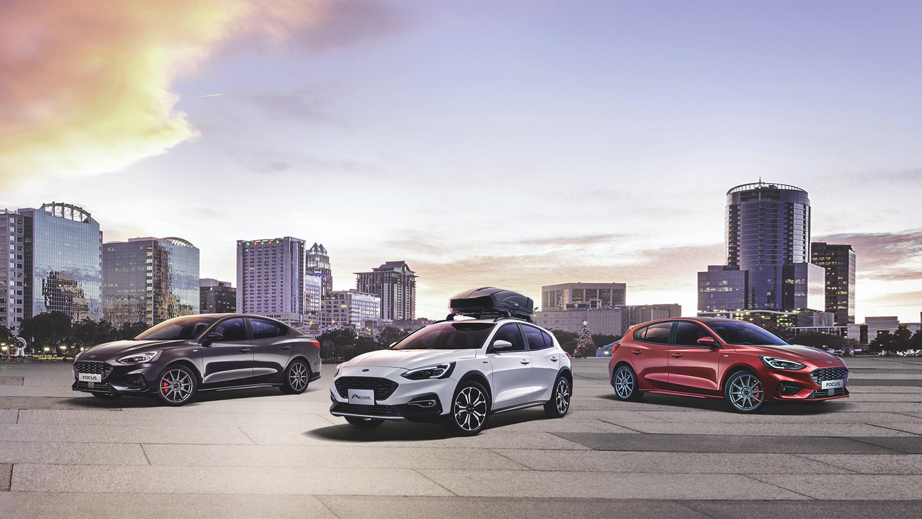 Ford Focus 2022 年式開放接單!高階車型升級智慧 LED 頭燈與輕量鋁圈上身