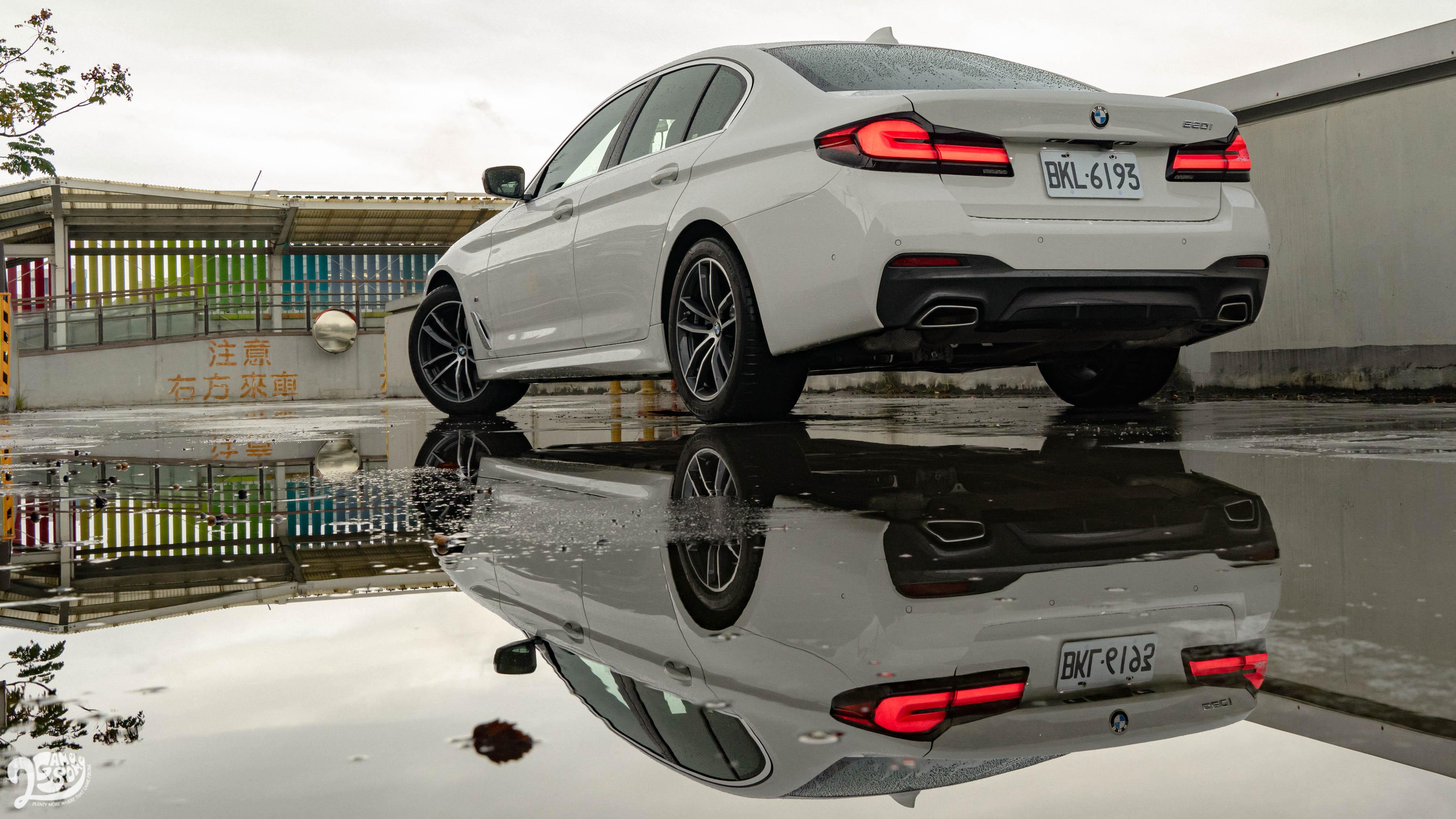 點到為止的好,BMW 520i M Sport 很明瞭