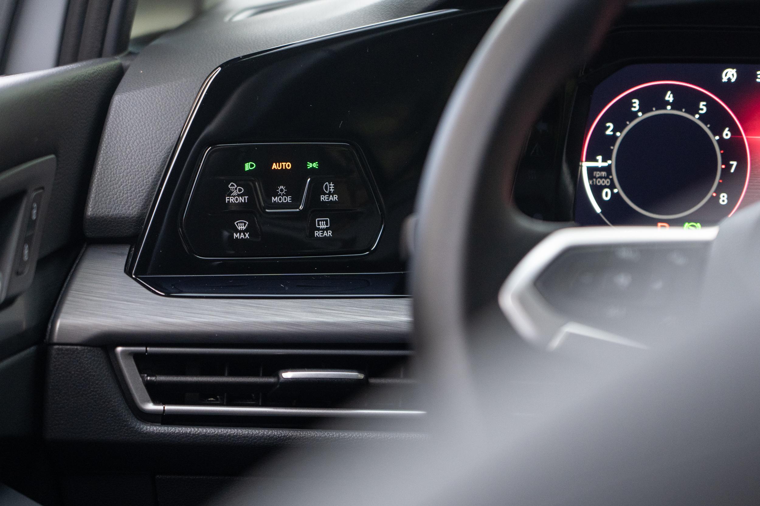 頭尾燈控制數位觸控模組。