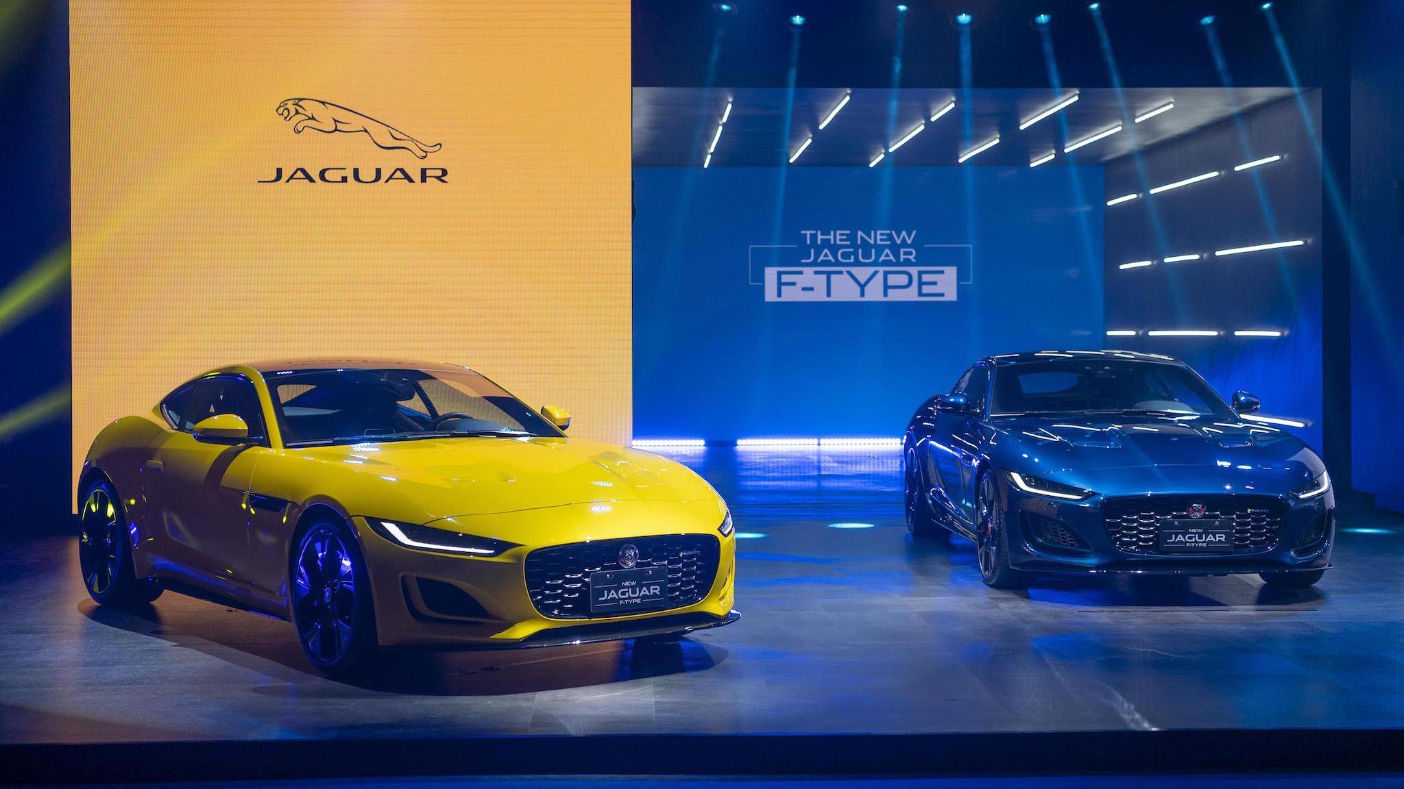 Jaguar F-Type 英倫雙座跑車 366 萬起正式登台