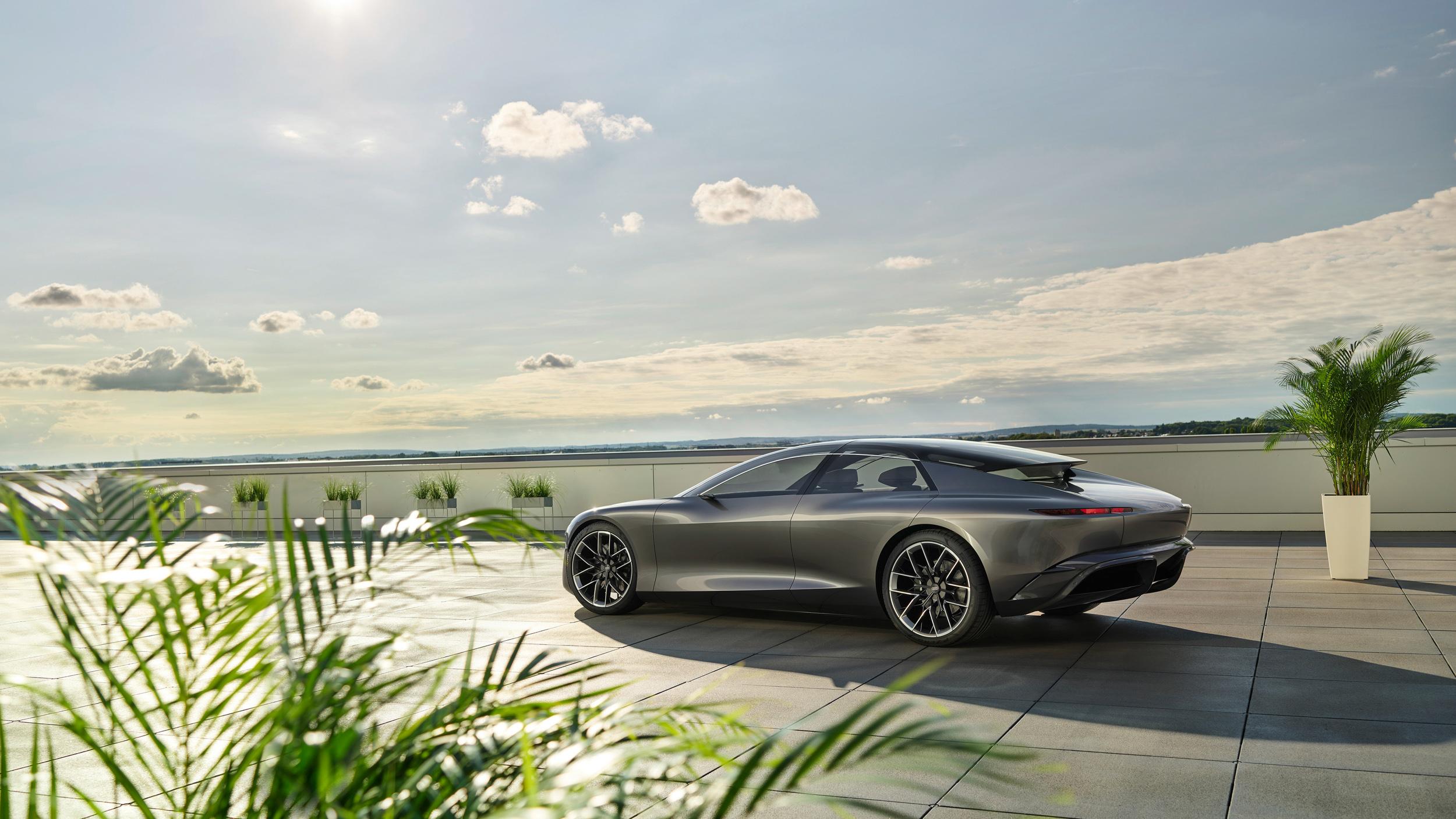 未來四環旗艦轎跑預覽  Audi grandsphere concept 全球首演