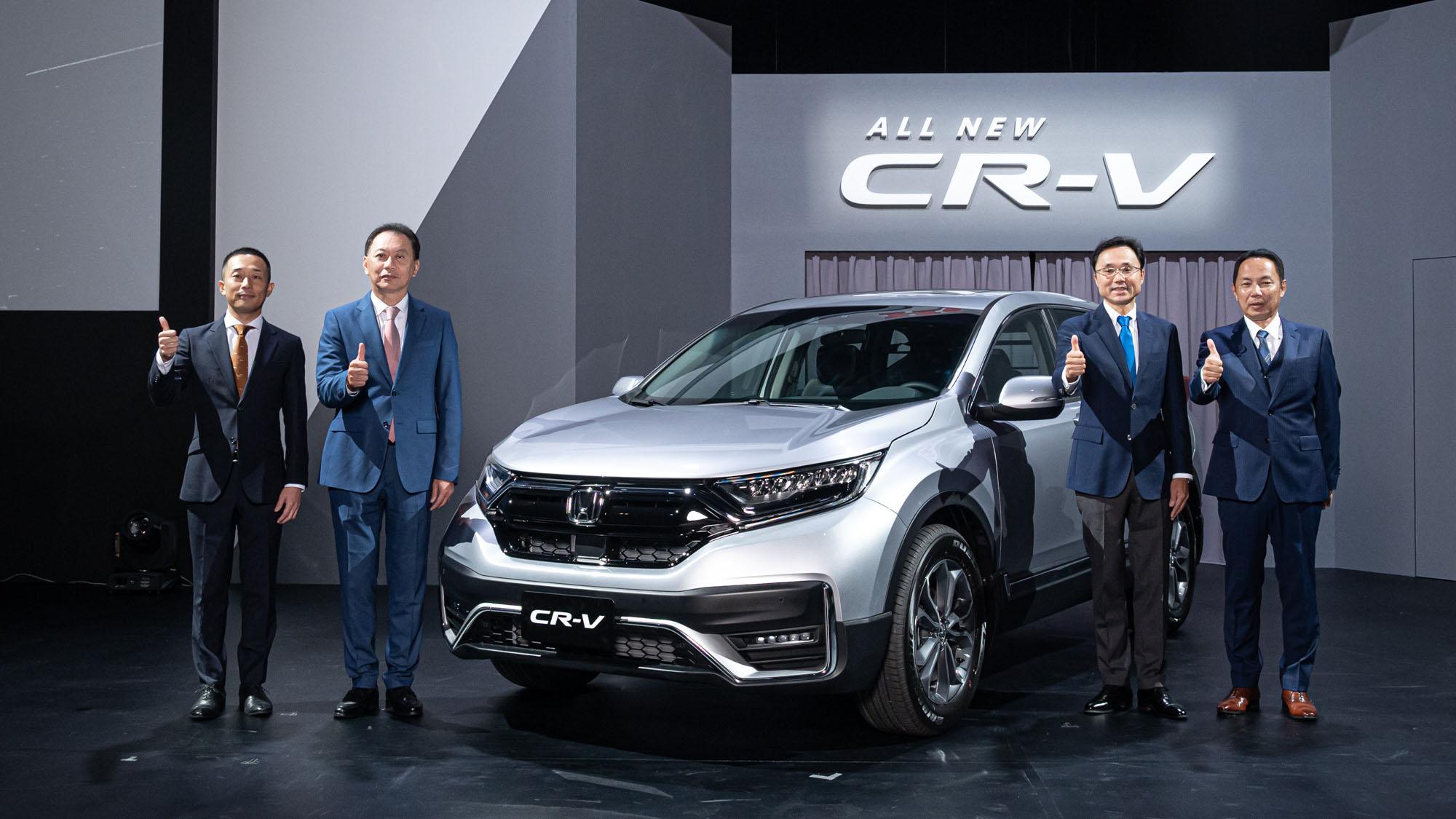 小改款 Honda CR-V 正式售價公佈,入門款 94.9 萬起
