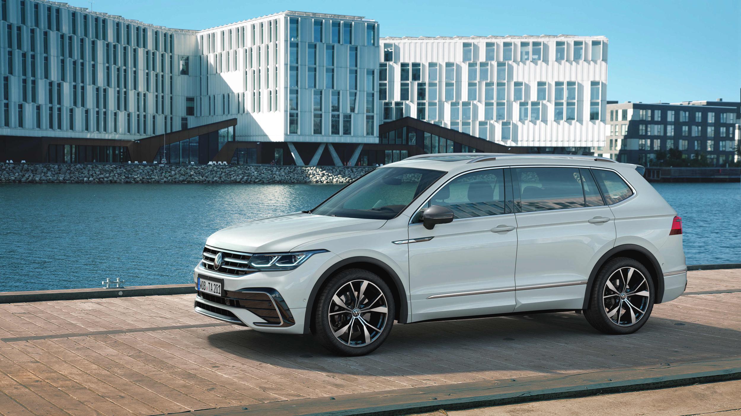 Volkswagen 小改款 Tiguan Allspace 152.8 萬起開放預售