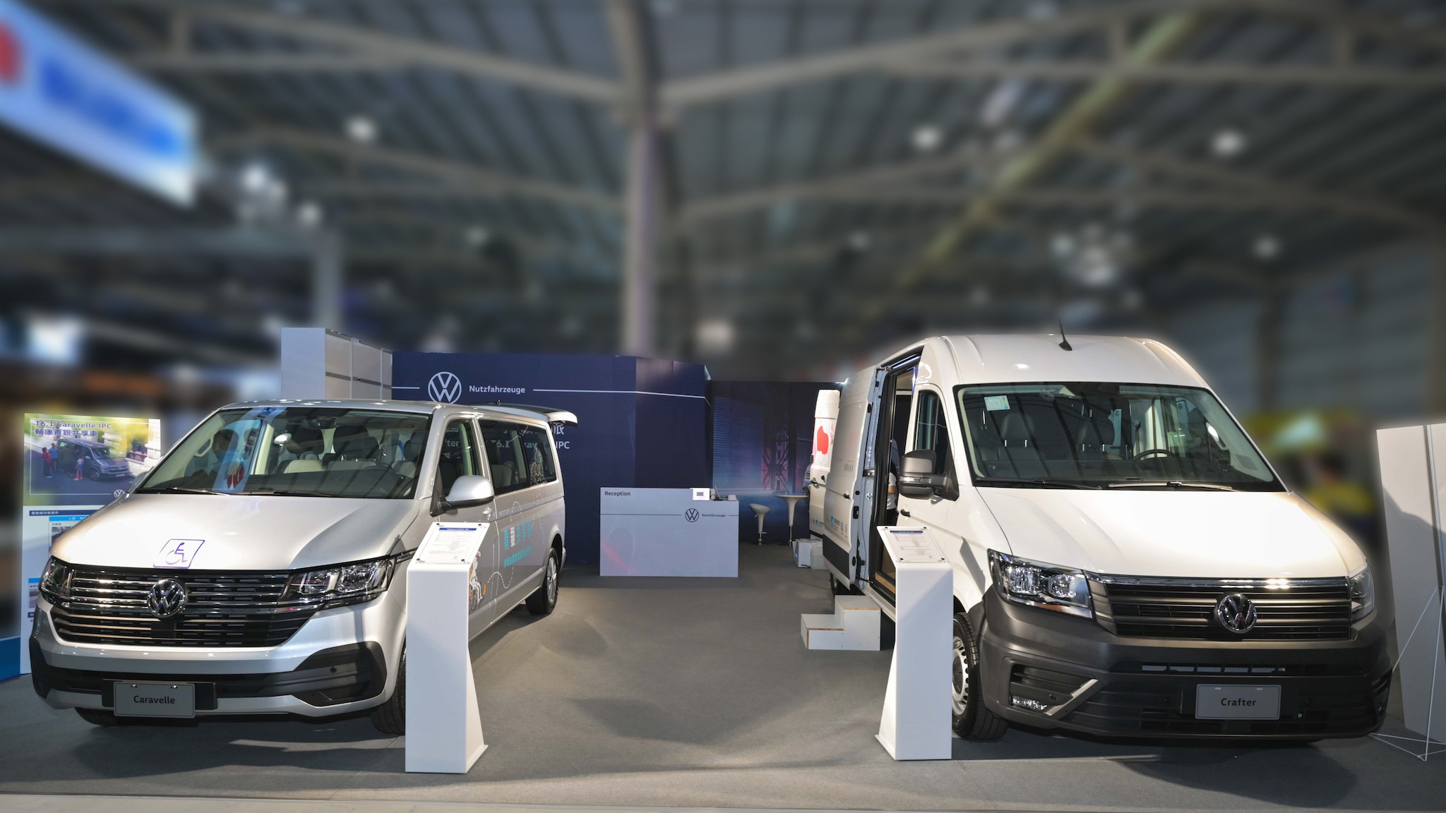 福斯商旅 T6.1 Caravelle 青銀共享車 213.4 萬、Crafter 健康行動車 488 萬商車展同步登場