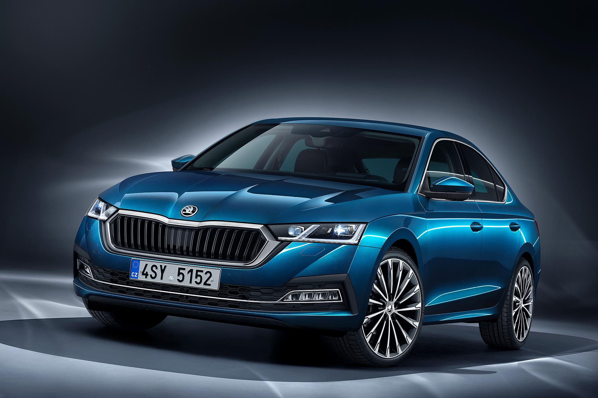 第四代 Octavia 外觀設計以 Škoda 新世代設計語言為主軸。