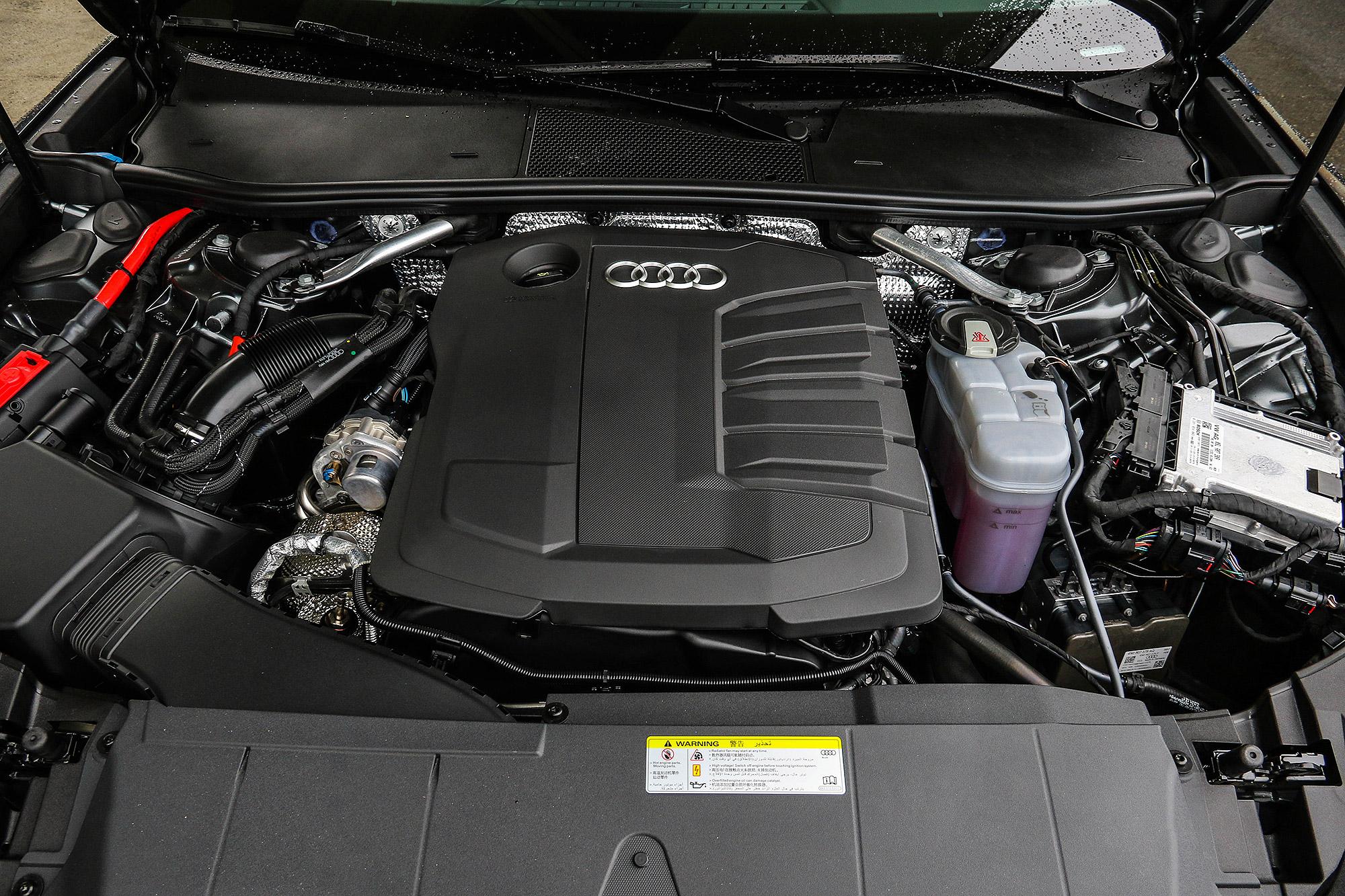 2.0 TDI 柴油引擎整合 12V Mild-Hybrid 輕油電系統。