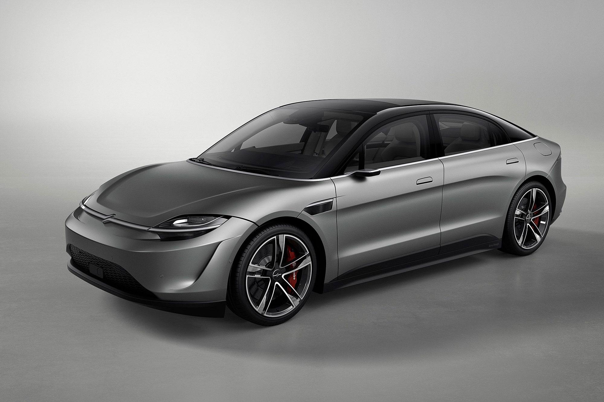外觀設計帶有許多新創電動車產品的影子。