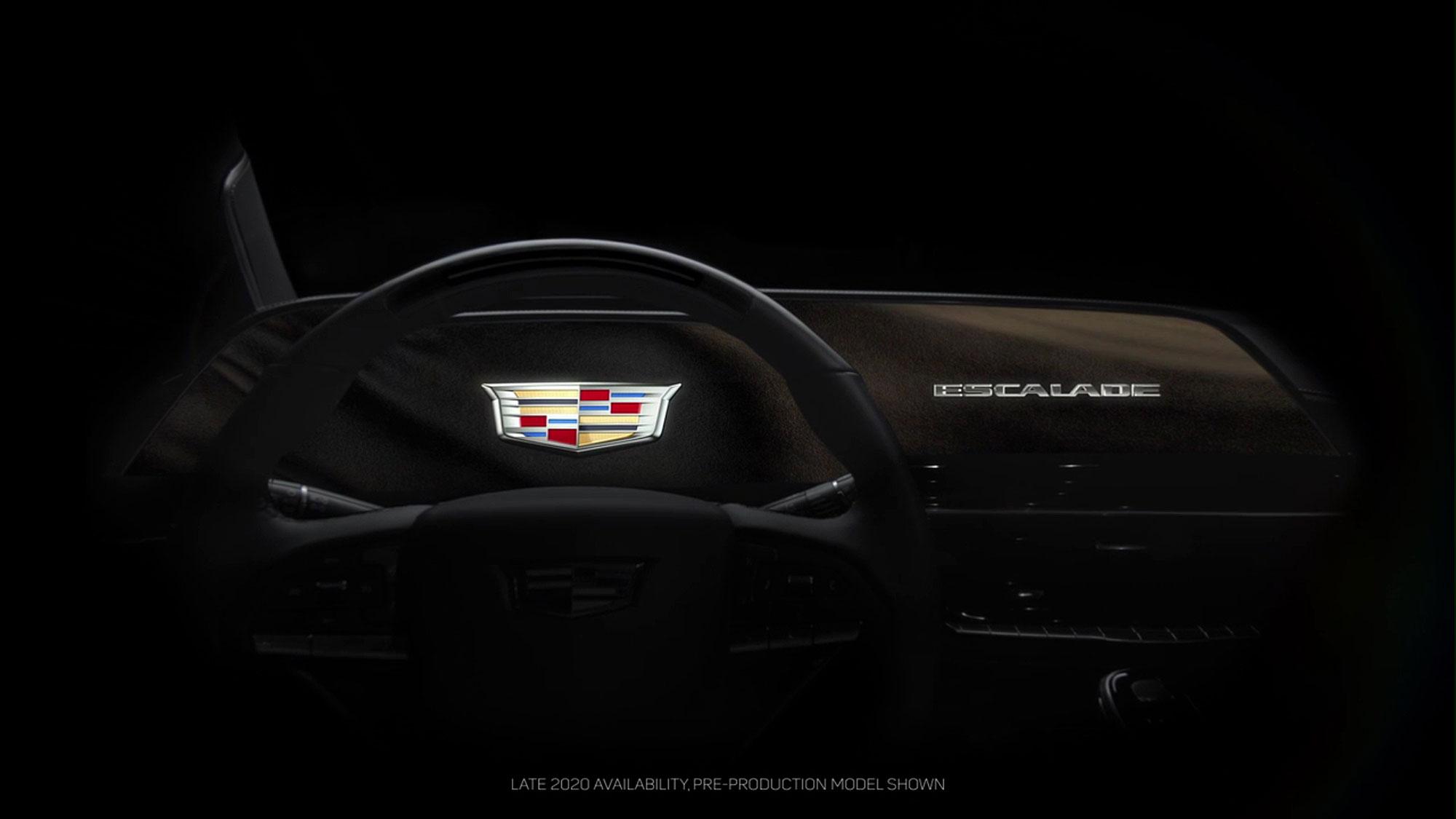 Escalade 未來將會植入尺寸高達 38 吋的曲面 OLED 螢幕。